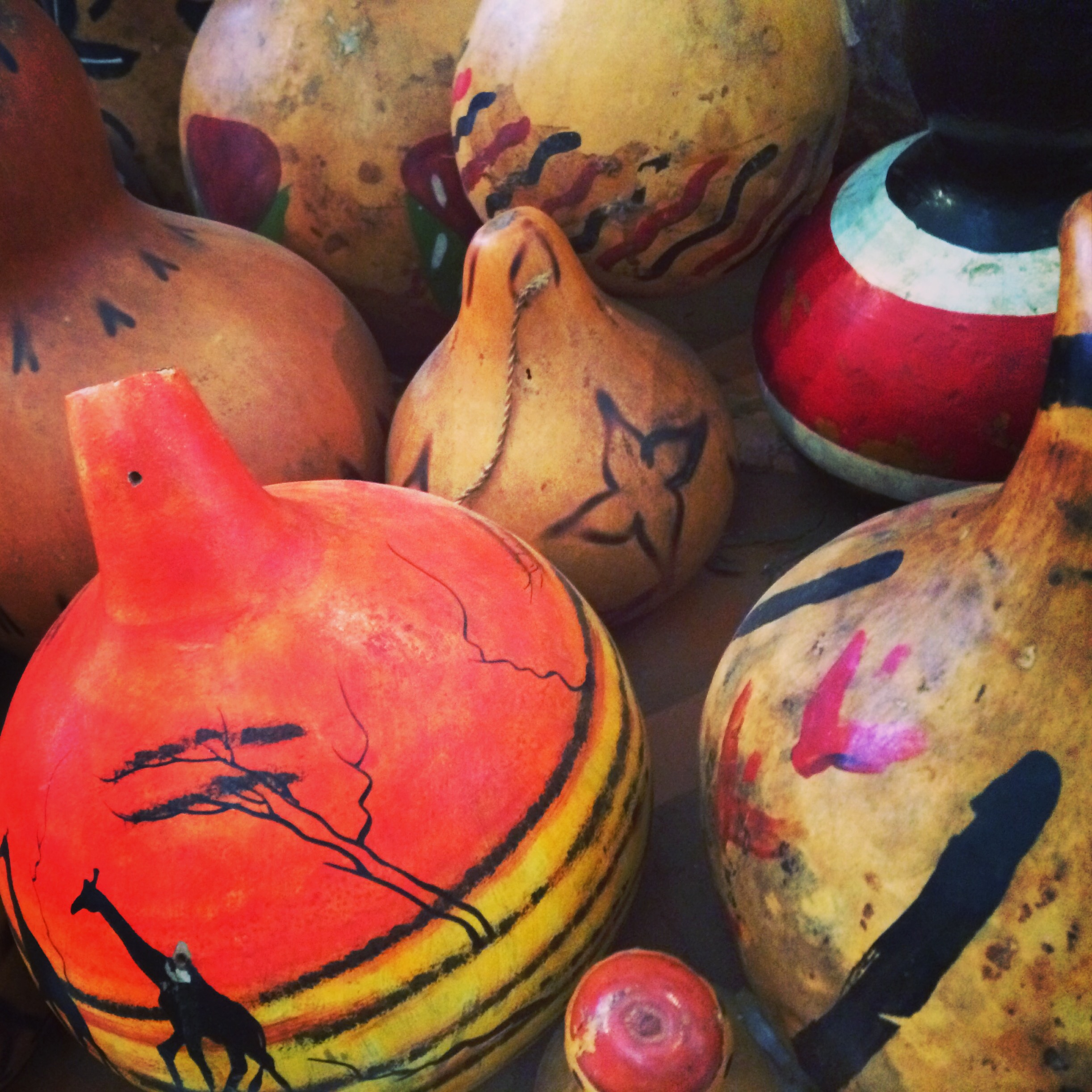 Gourds at the National Museum in Nairobi
