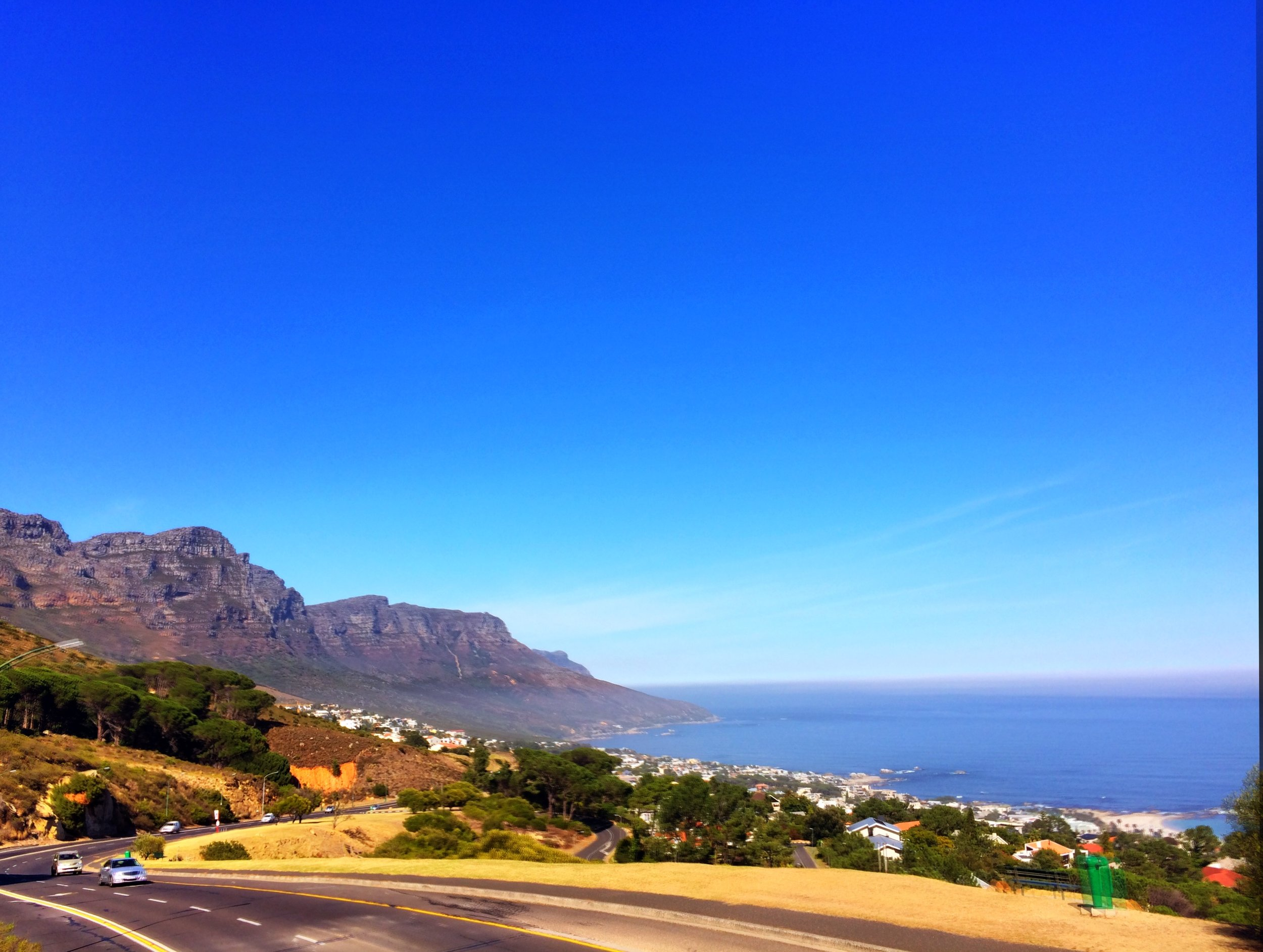 Cape Town itself is great, but there are lots of picturesque scenes all around the city