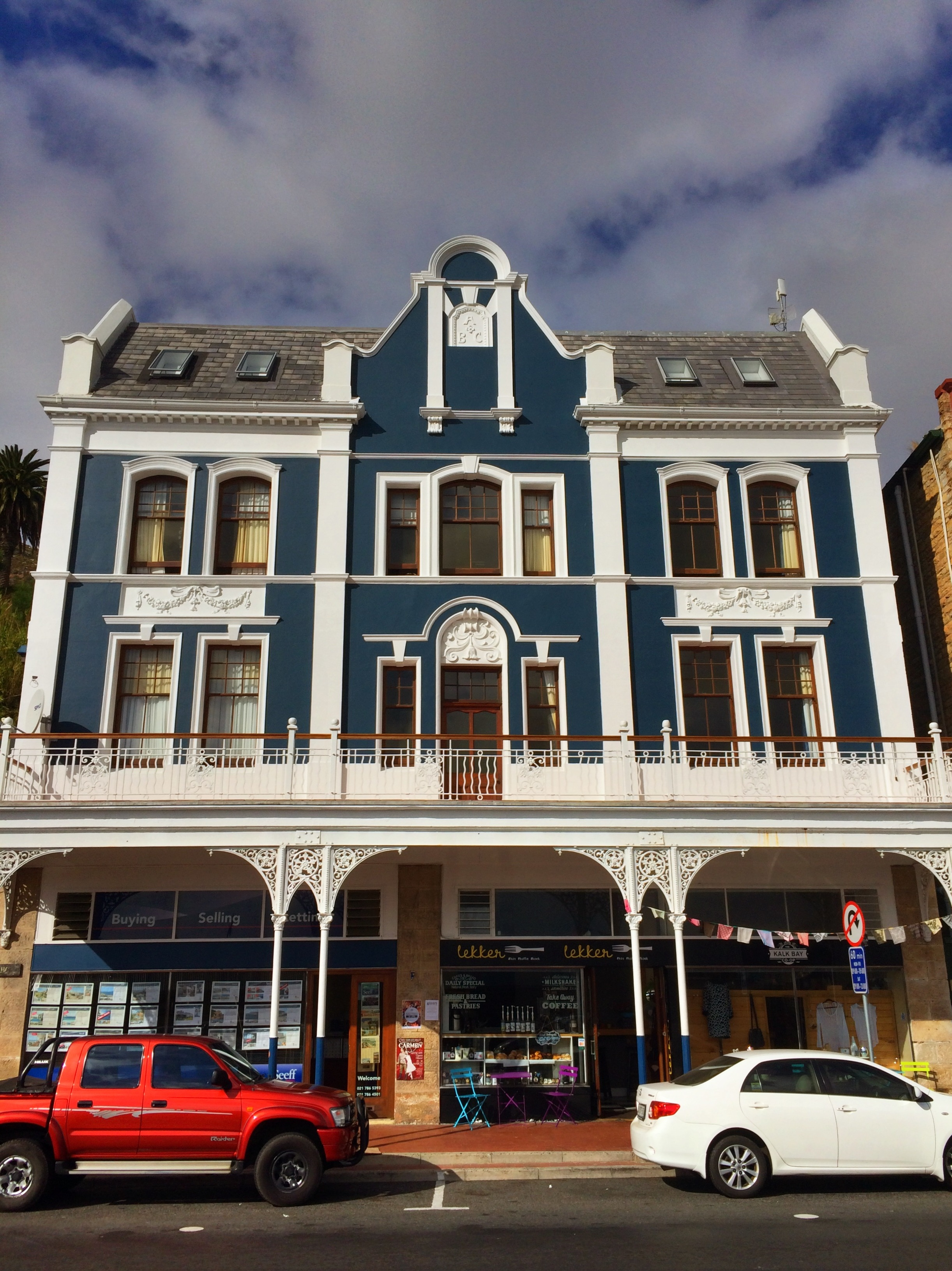 Simon's Town, just south of Cape Town. A quaint little place worth visiting.