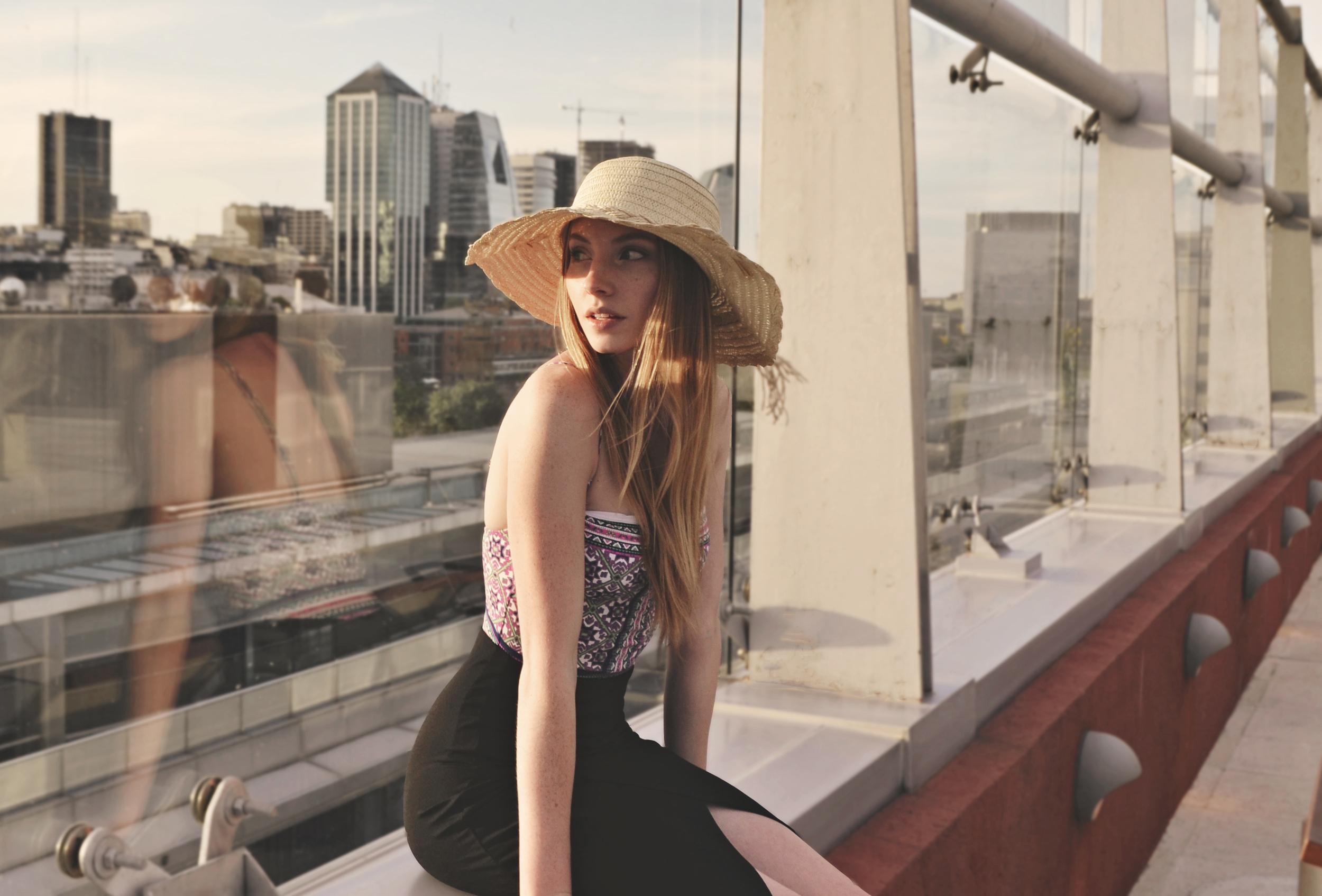 One-Piece & Sun Hat   Girl x Garment