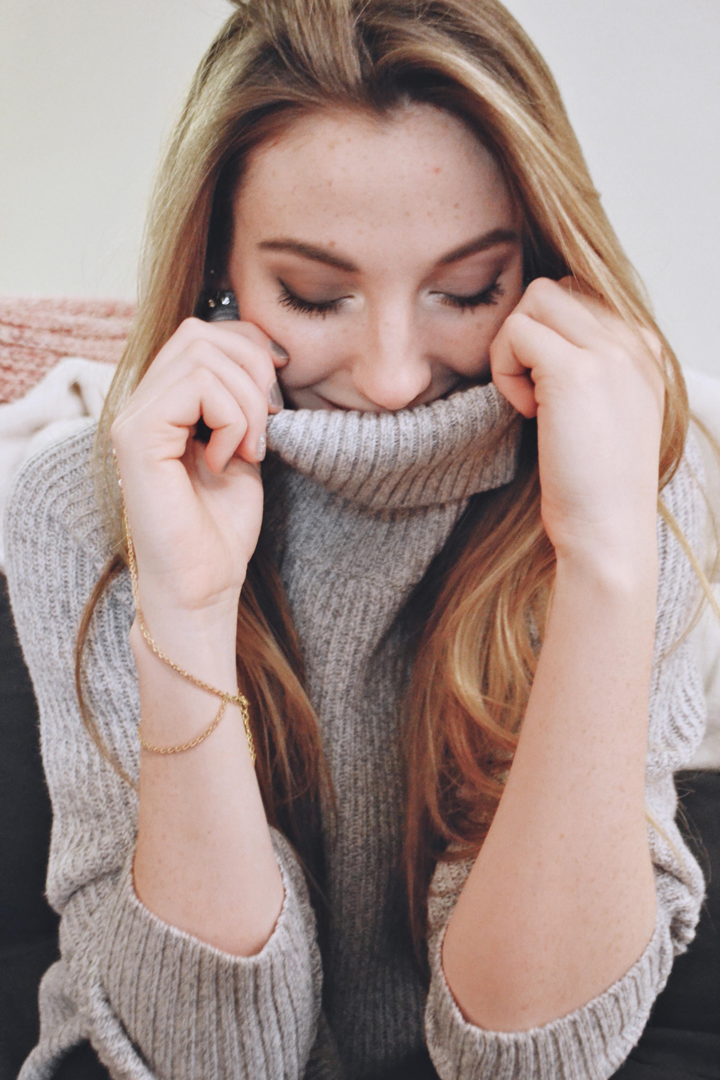 Oversized Sweater | Girl x Garment