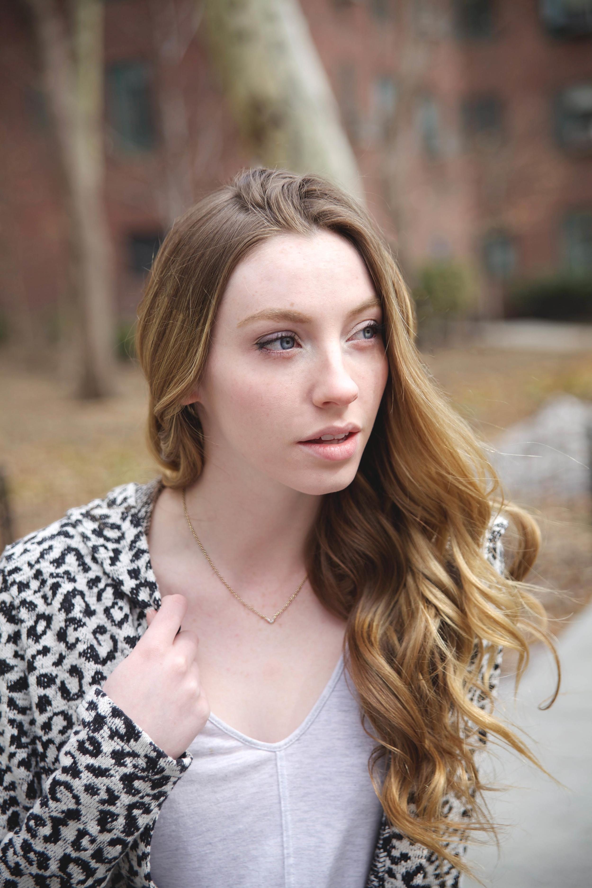 Delicate Pave Necklace via Rocksbox | Girl x Garment