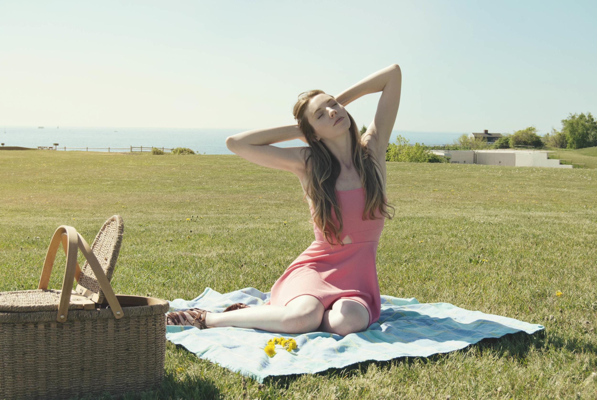 Pink Triangle Cutout Dress | Girl x Garment