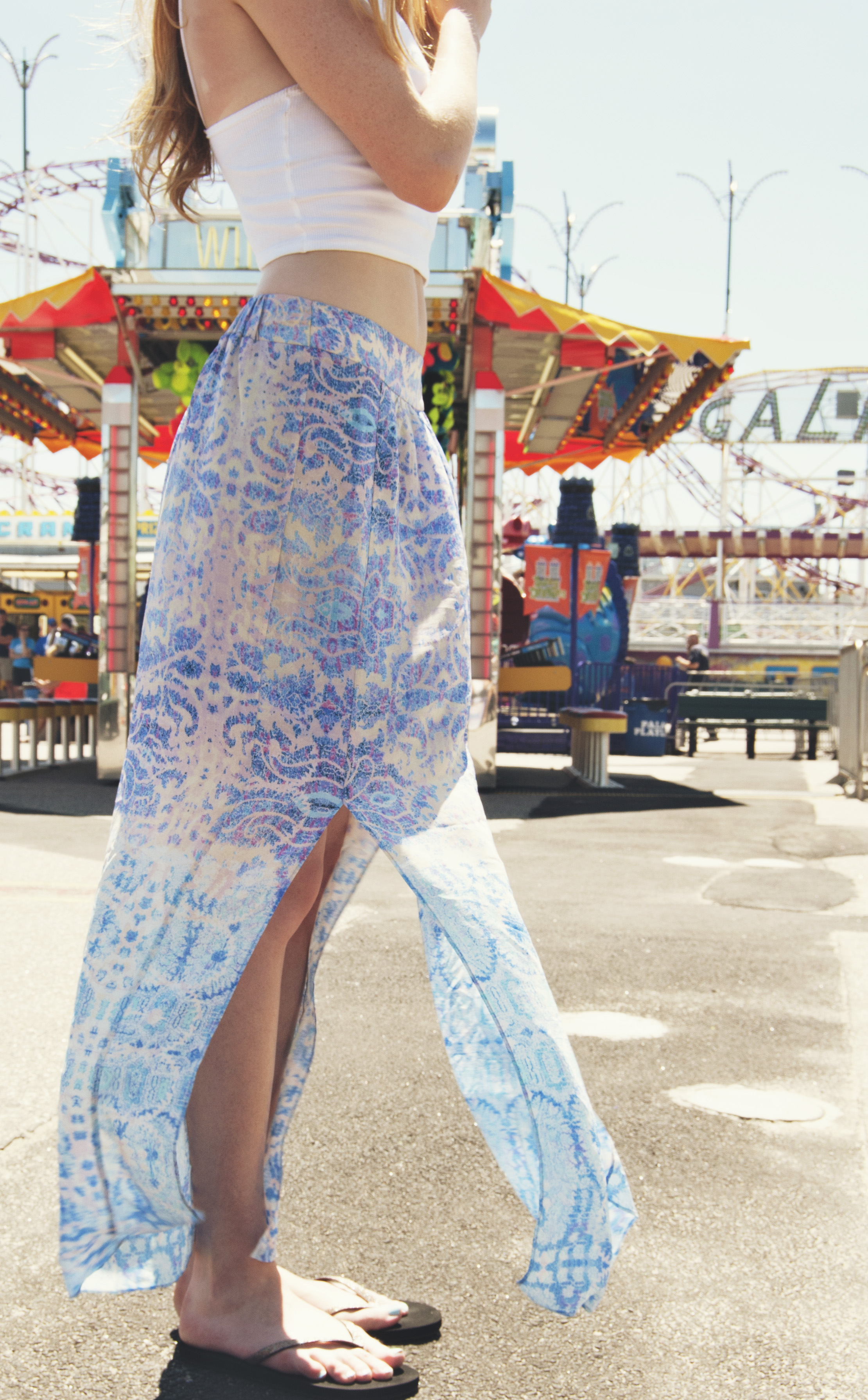 Cropped Top & Maxi Skirt (via Girl x Garment)