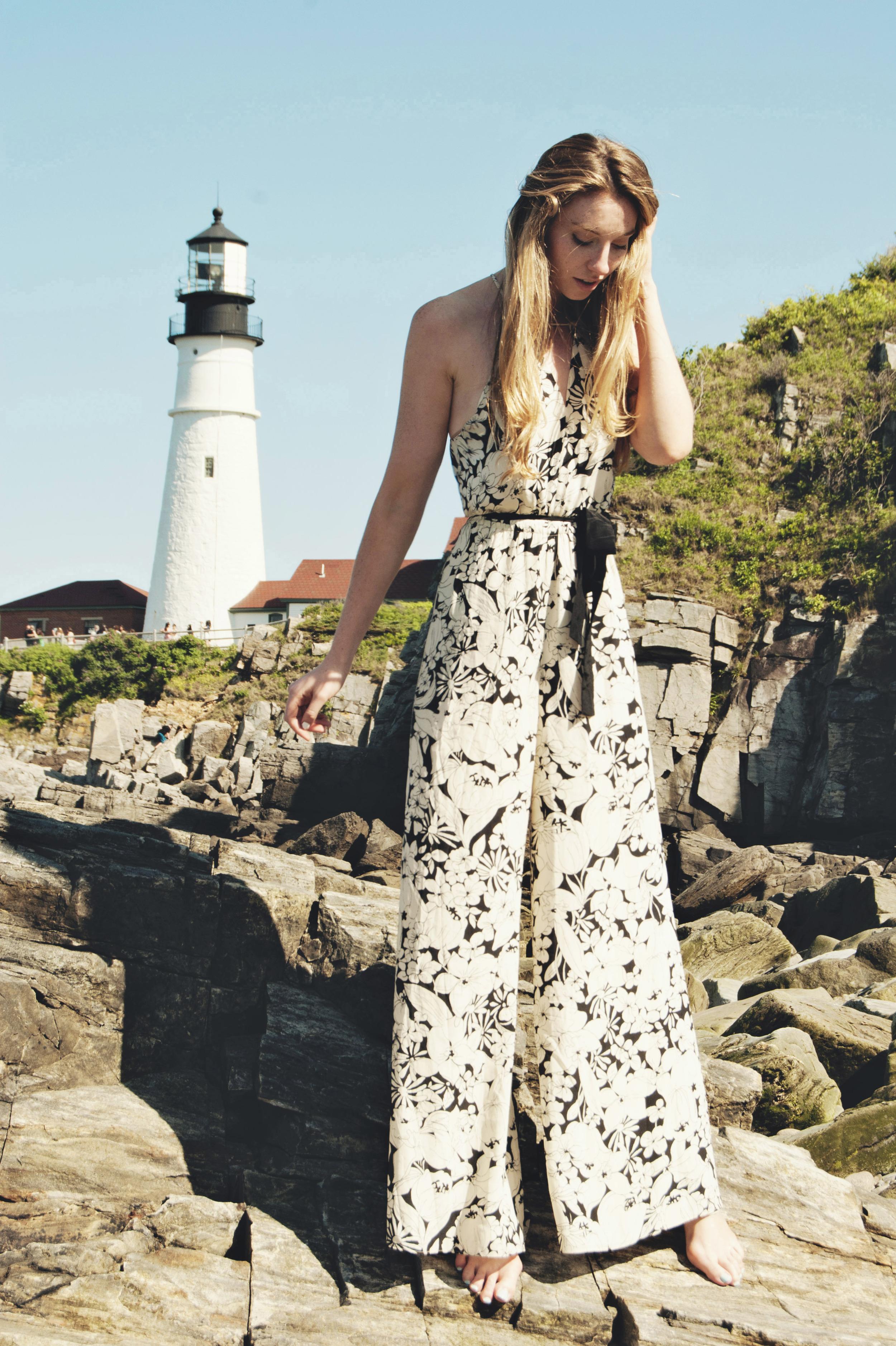 Floral Anthropologie Jumpsuit Romper (via Girl x Garment)