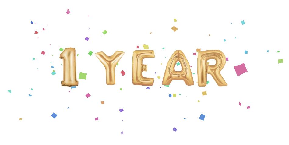 1 Year (via Girl x Garment)