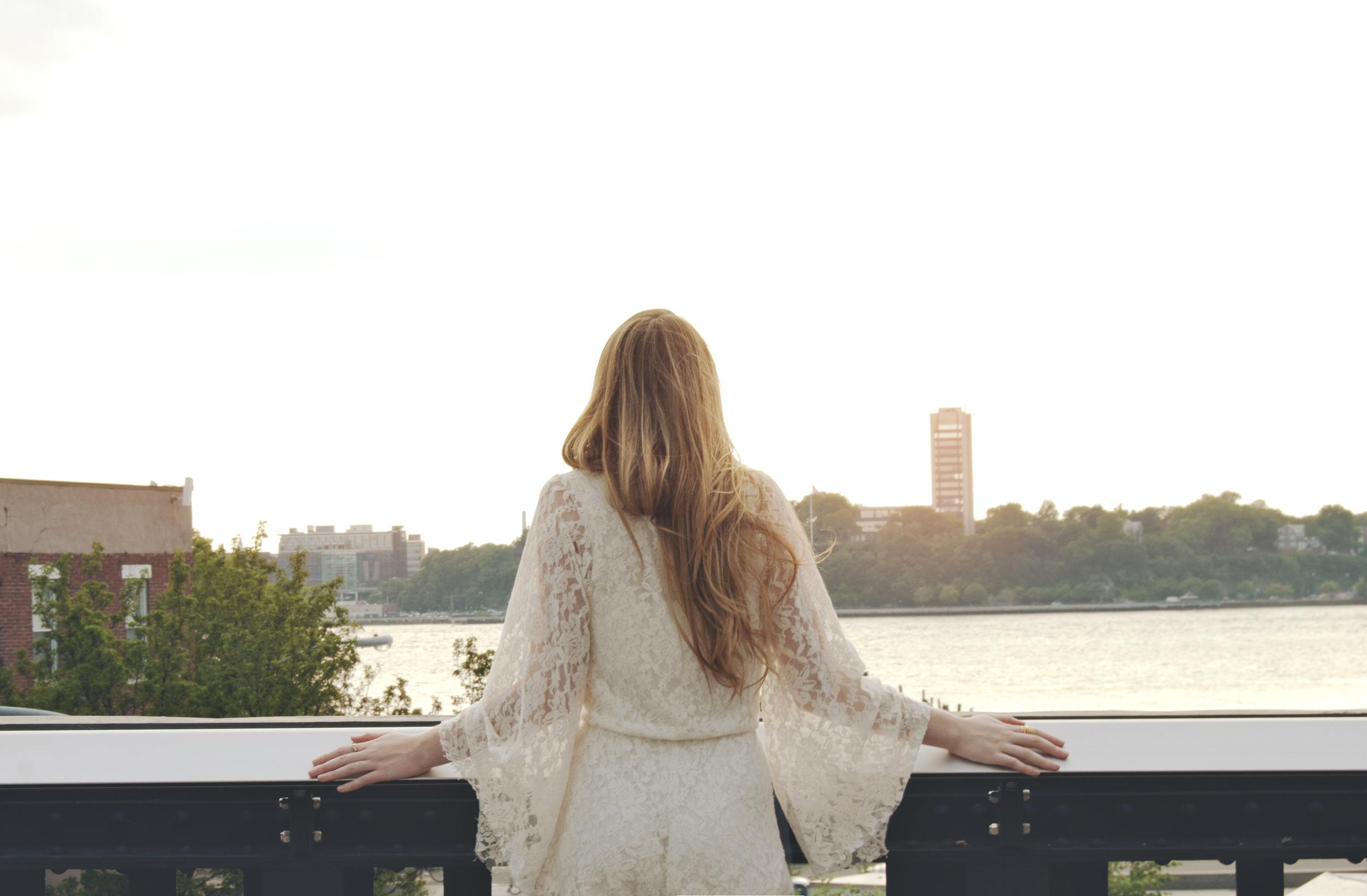 White Lace Romper (via Girl x Garment)
