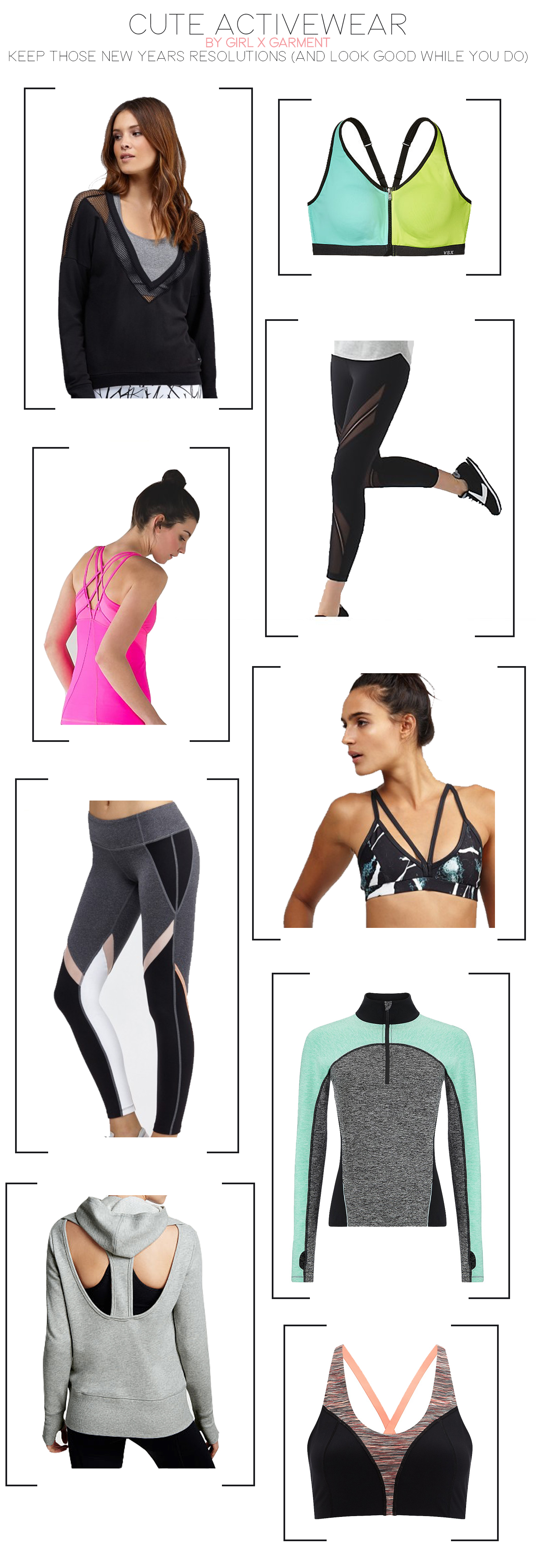 Cute Activewear / Workout Clothes (via Girl x Garment)