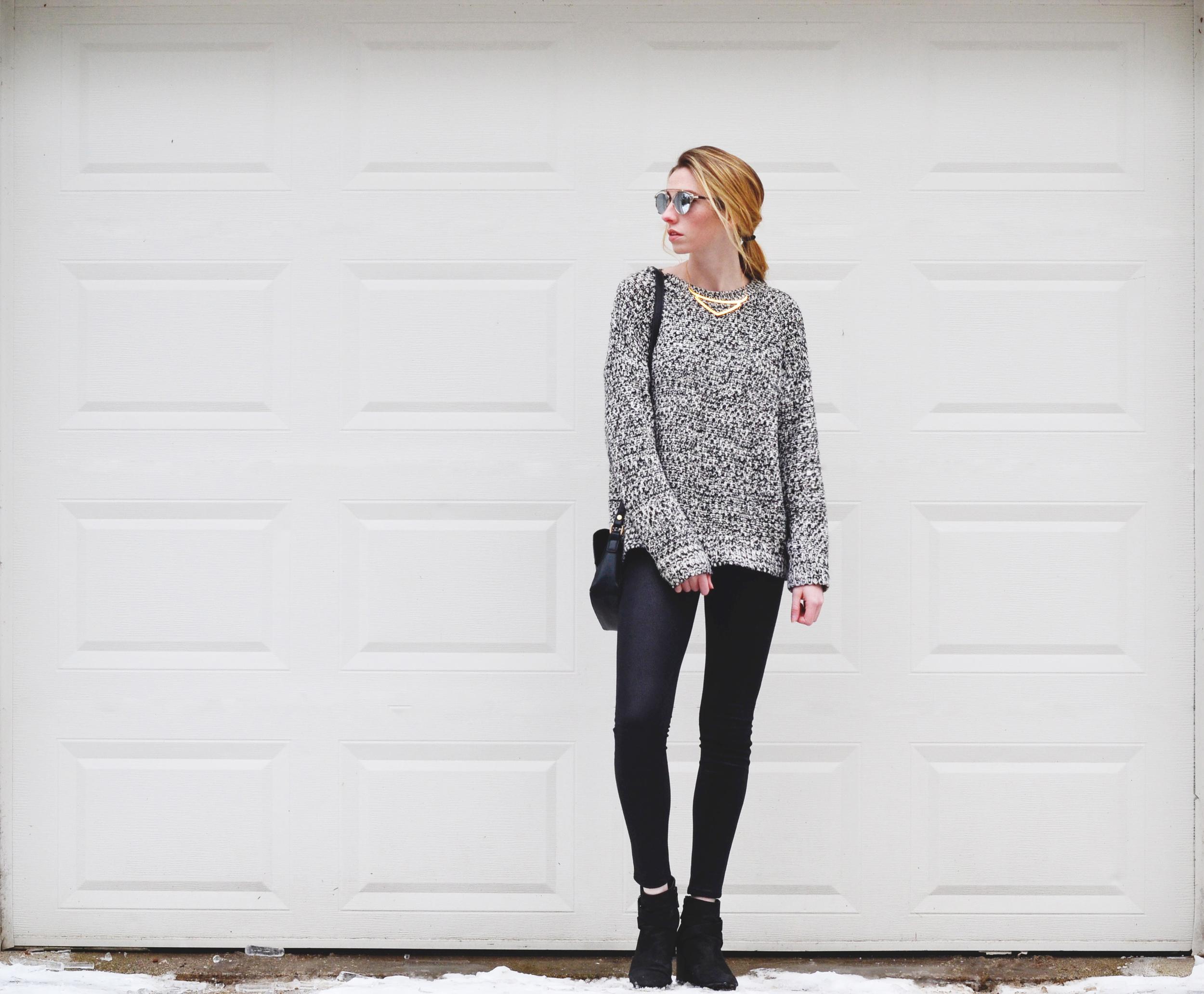 Marled Knit (via Girl x Garment)