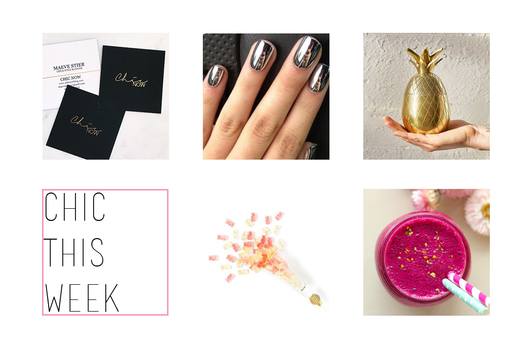 Chic This Week (via Chic Now)