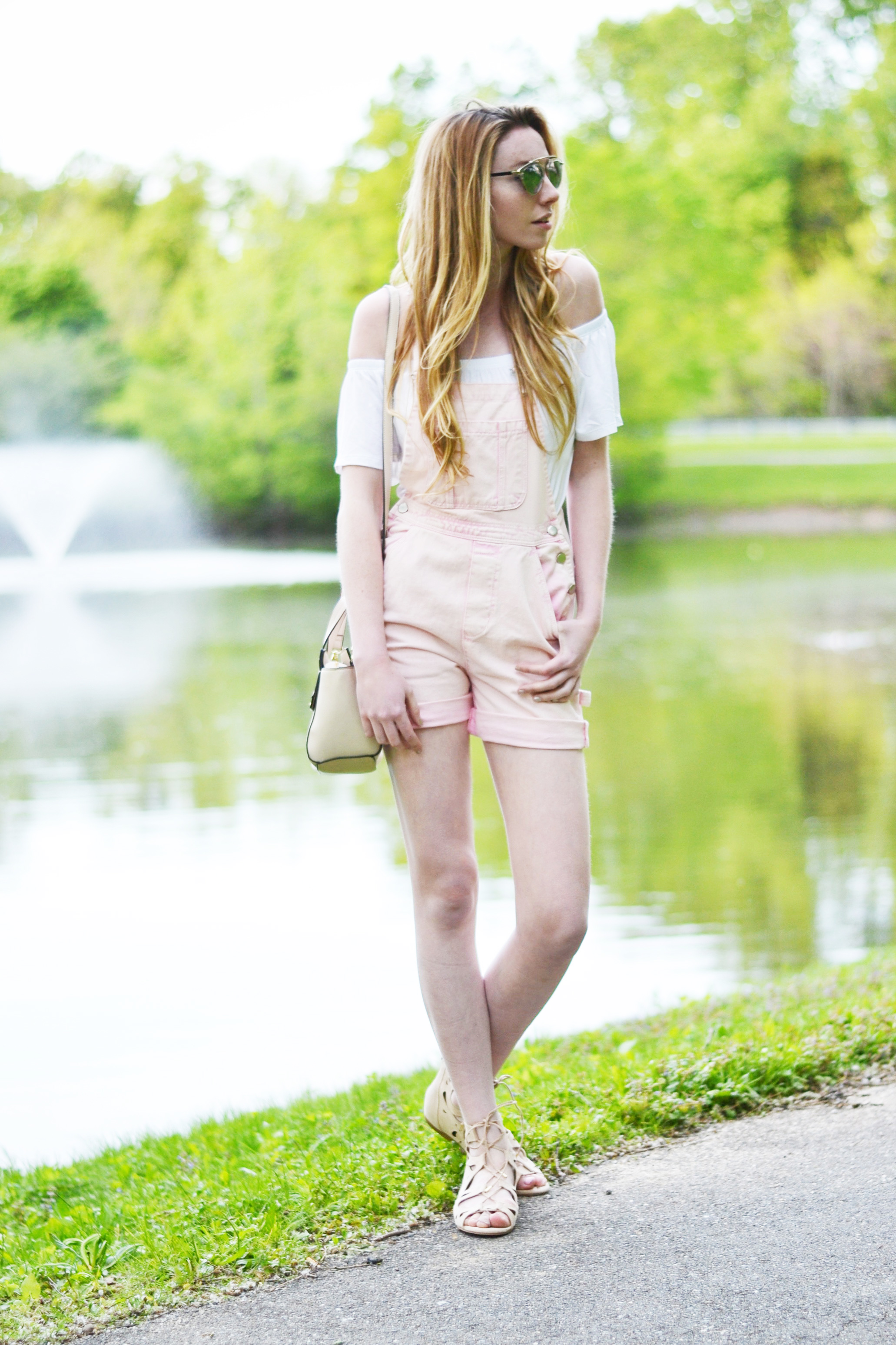 Pink Overalls (via Chic Now)