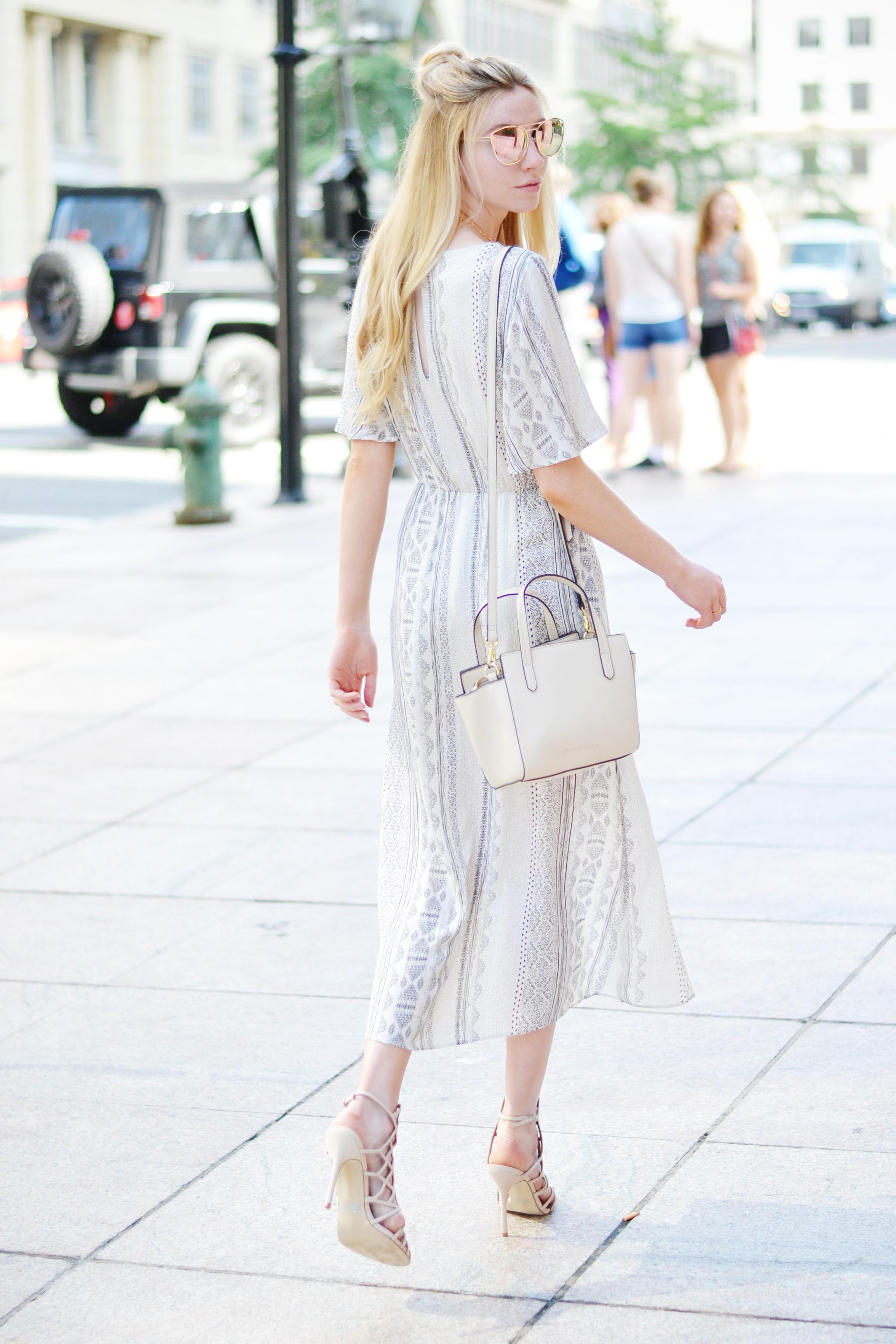 Blogger High Low Maxi Dress (via Chic Now)