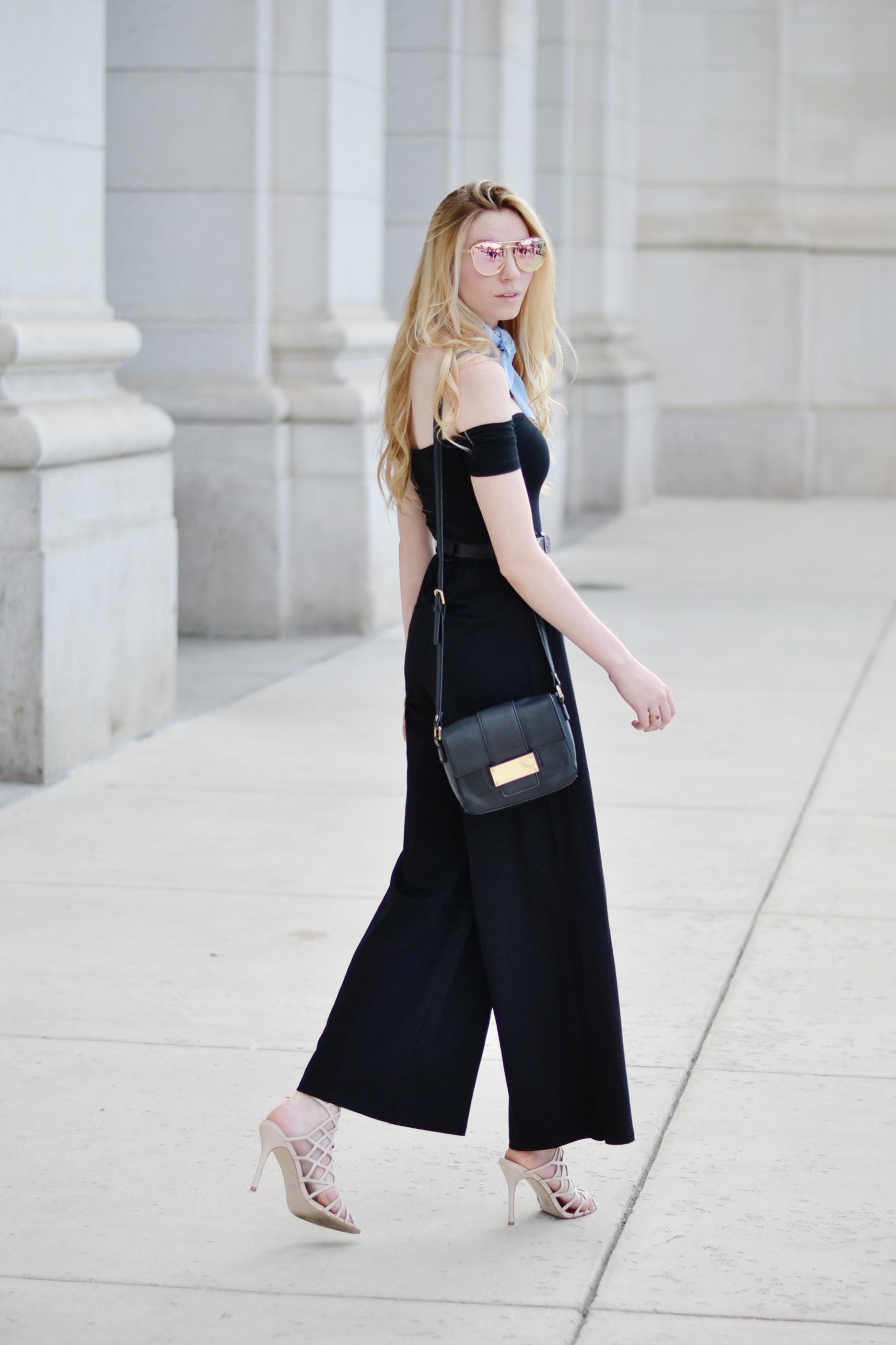 Blogger Black Jumpsuit (via Chic Now)
