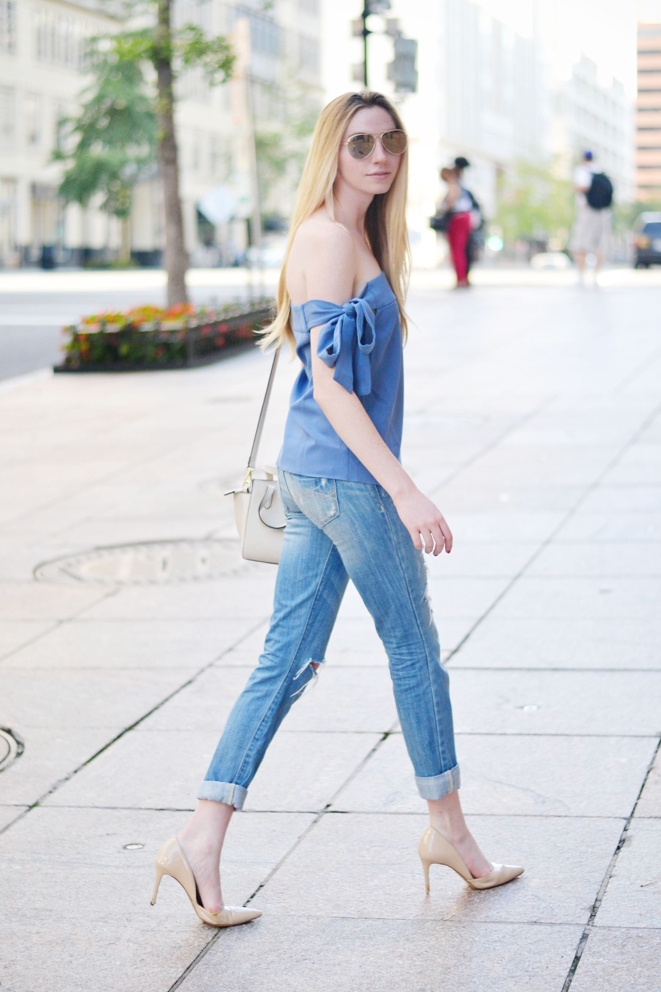 Blogger Summer Outfit (via Chic Now)