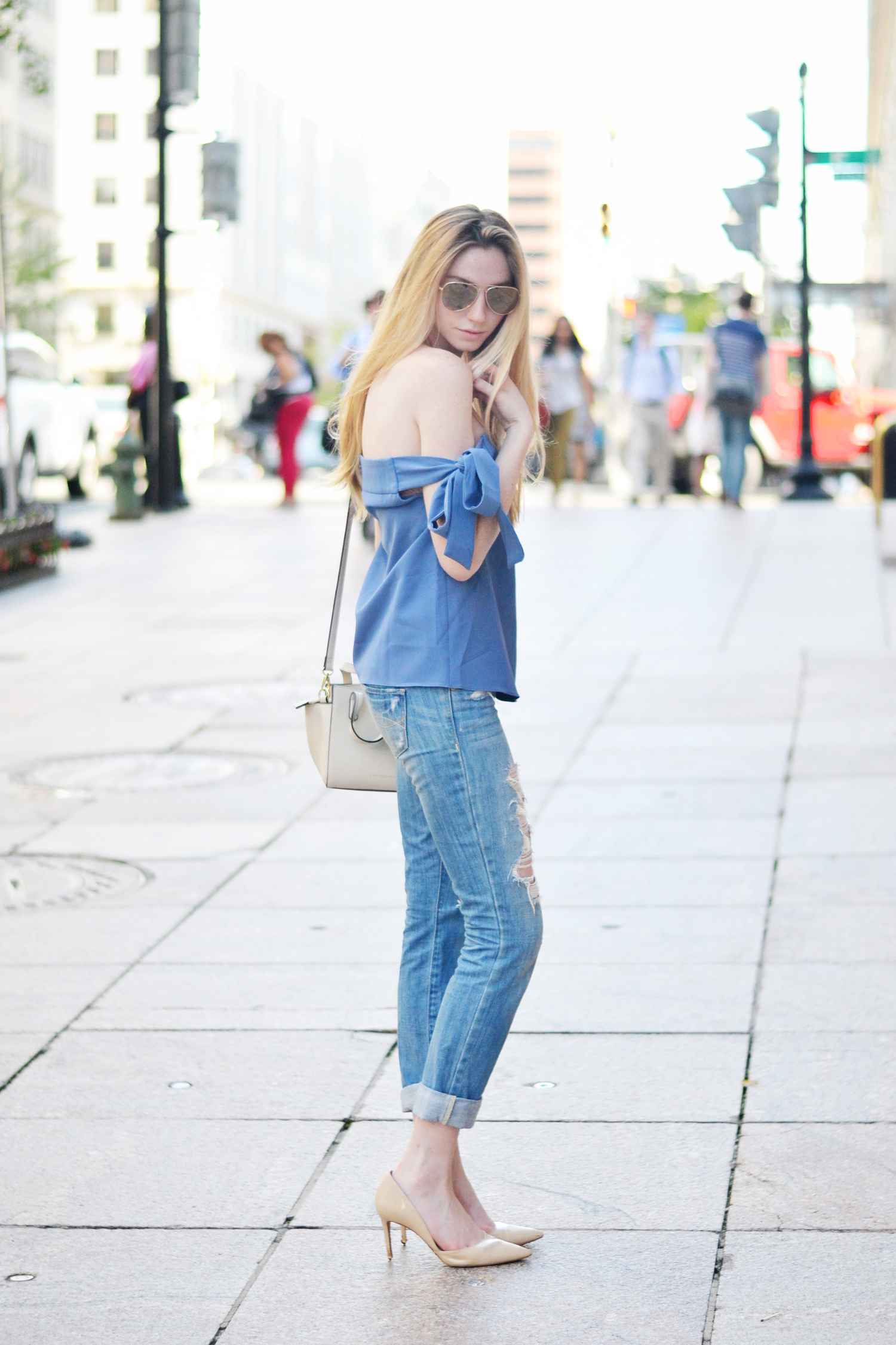Blogger Summer Outfit Ideas (via Chic Now)