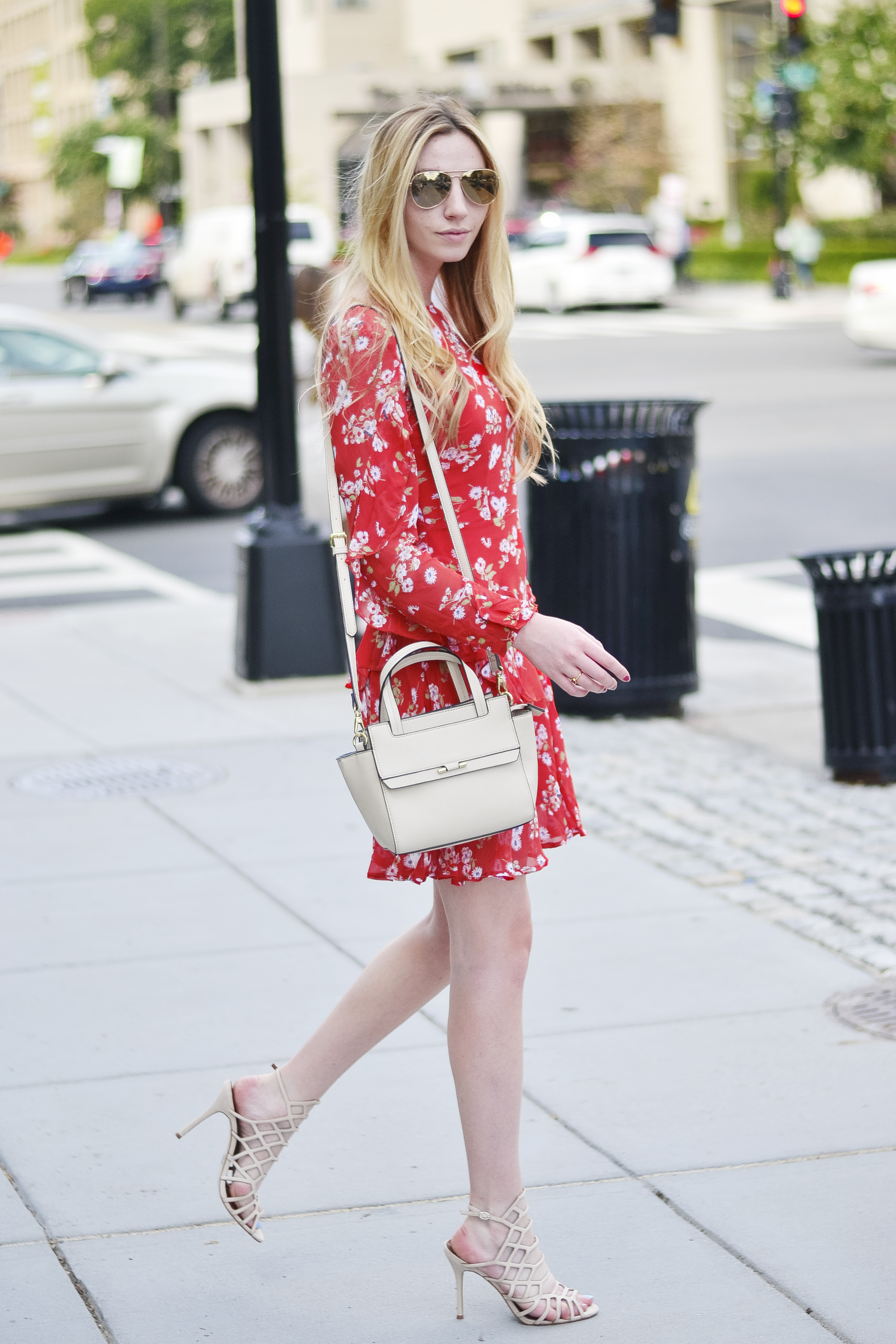 Blogger Red Dress (via Chic Now)