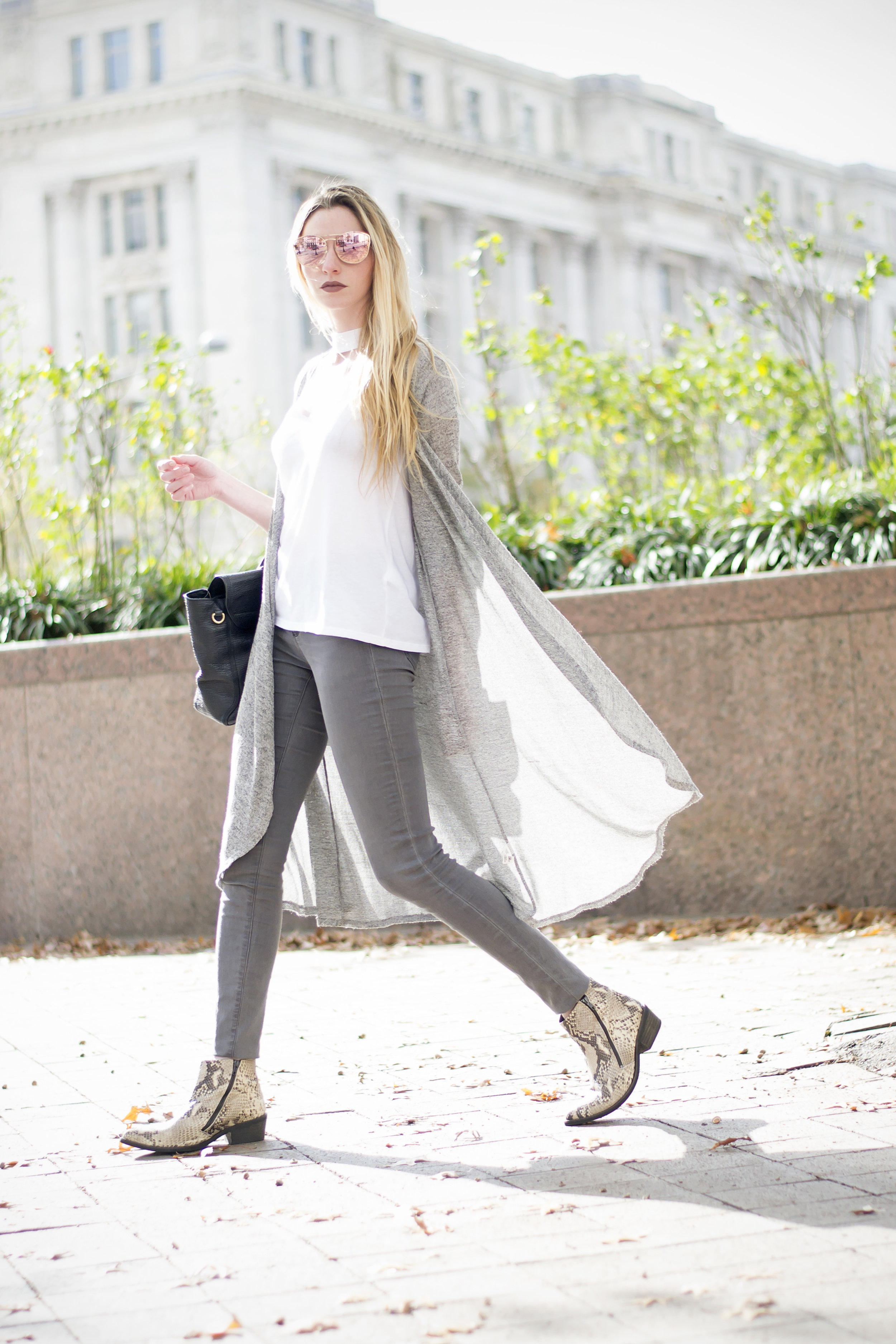 Grey Fall Outfit (Chic Now)
