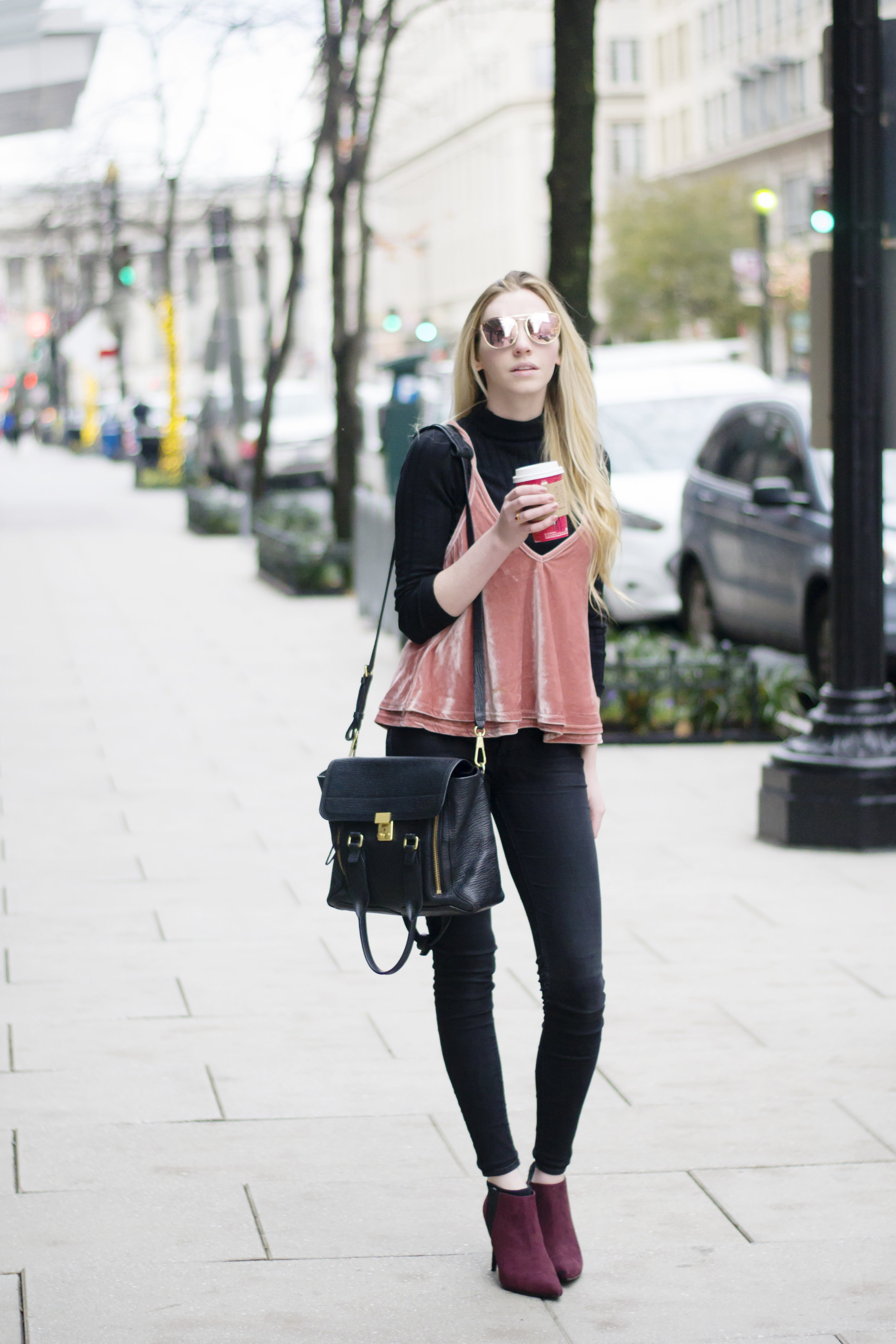 Blogger Layered Cami