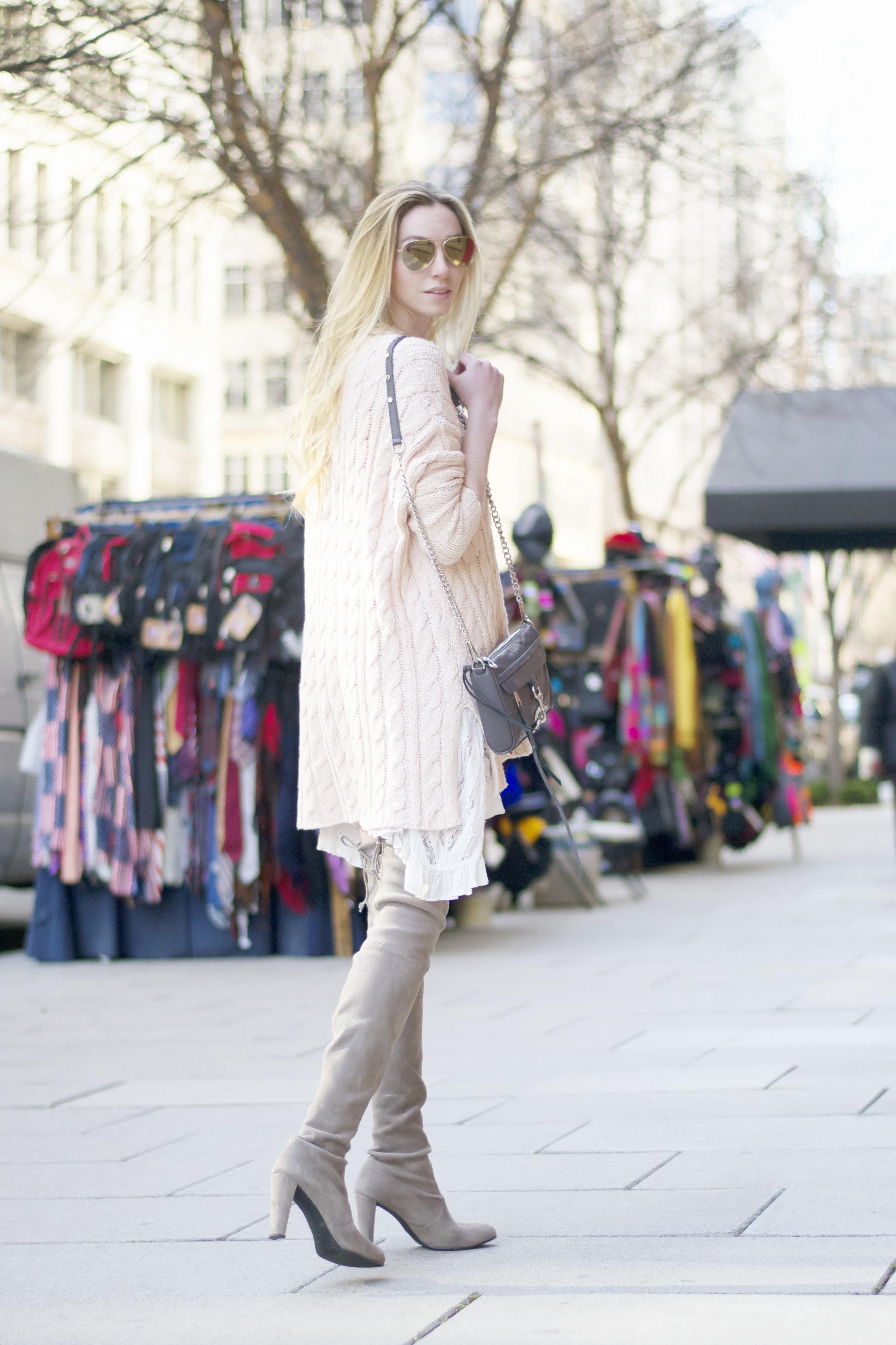 Feminine Winter Style Blogger