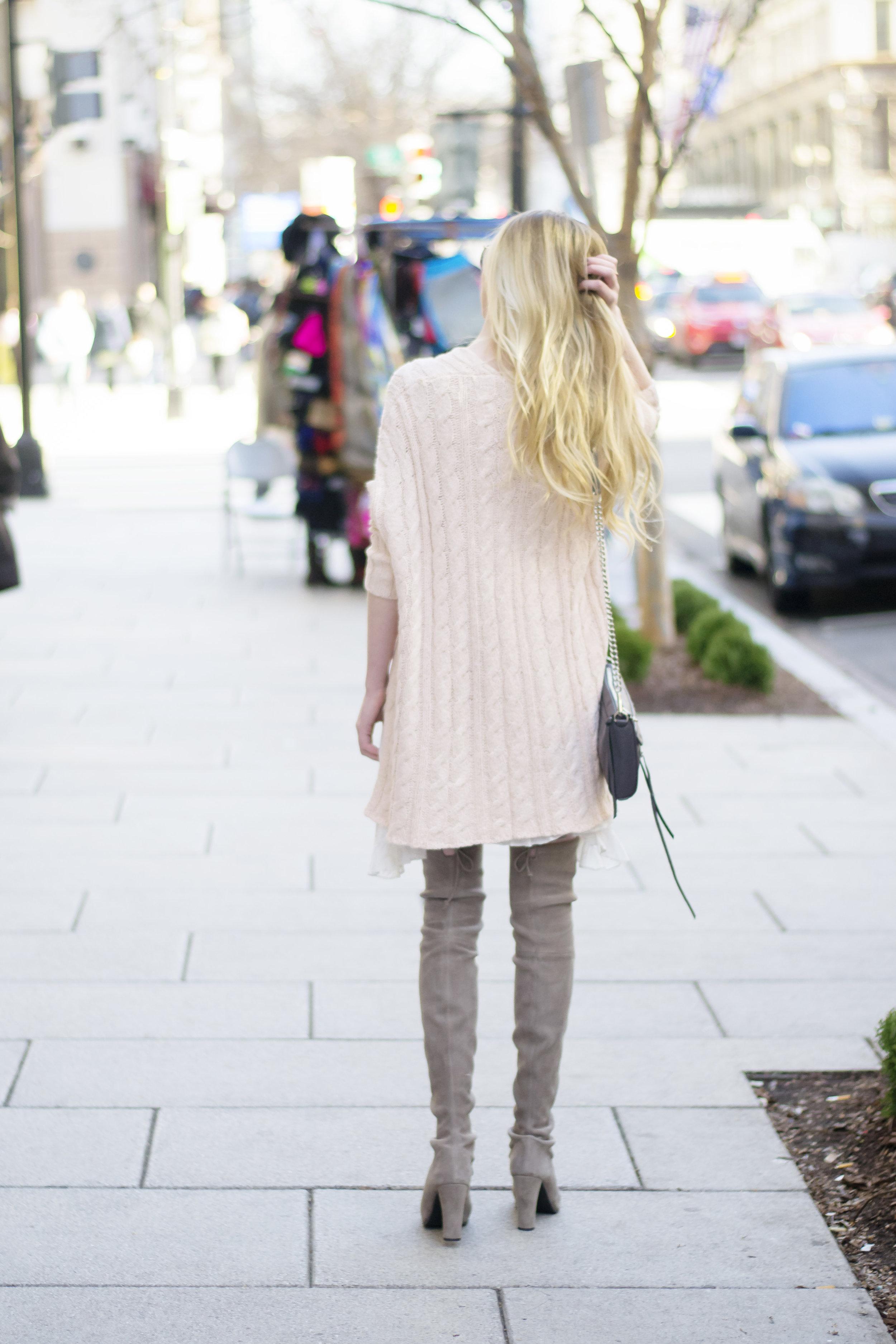 Blush Pink Free People Sweater