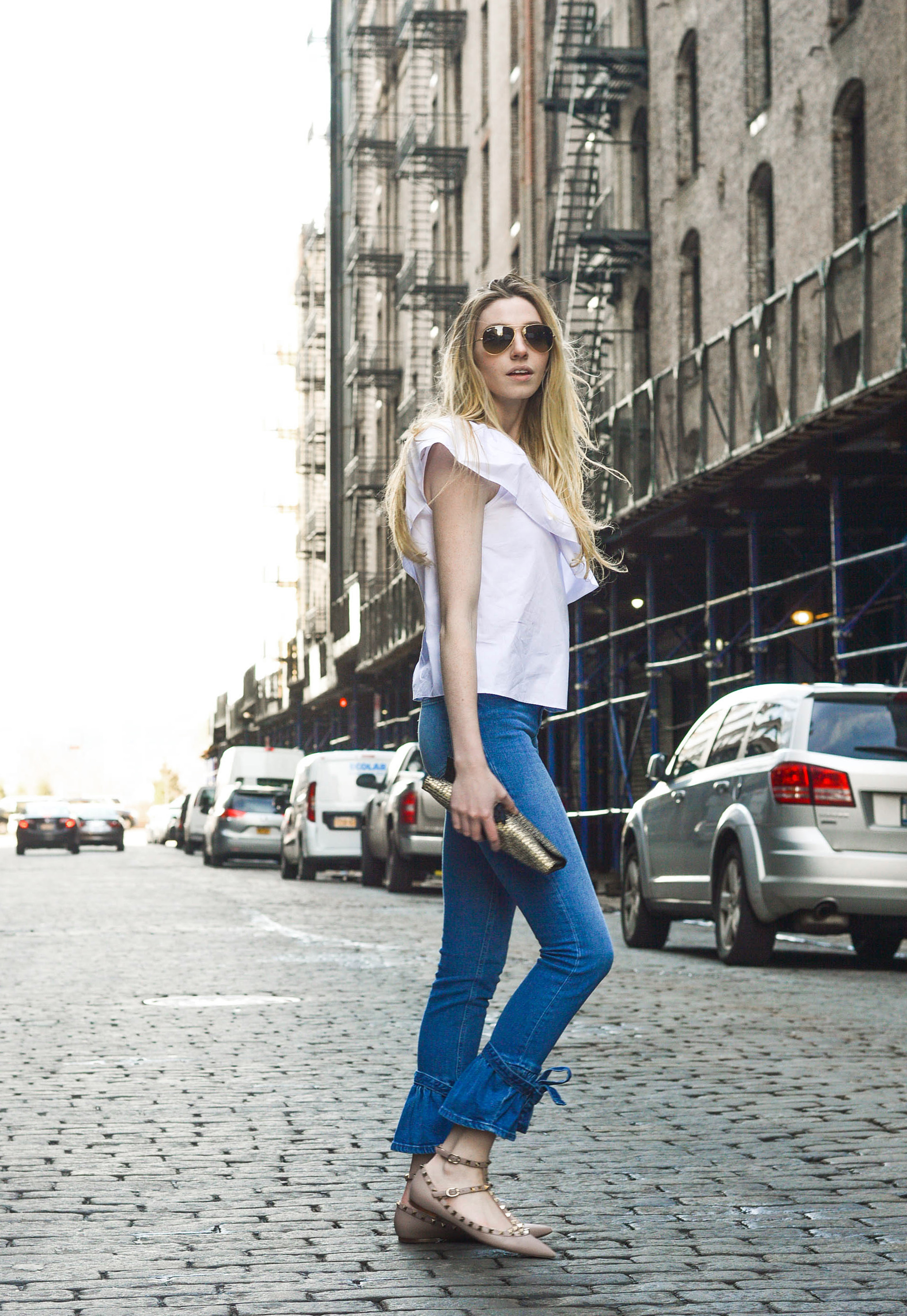 NYFW Street Style Blogger Outfit