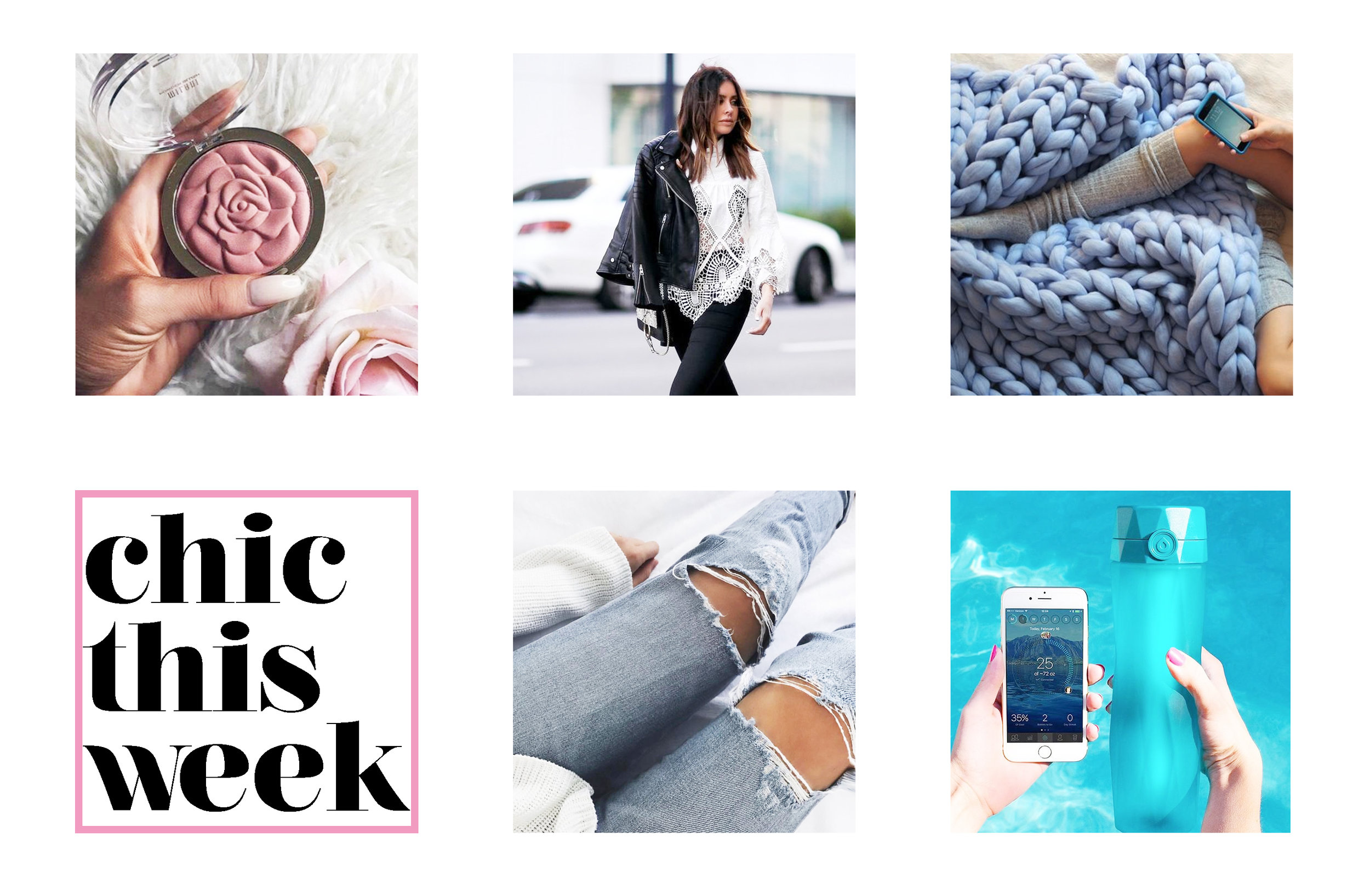 Your weekly dose of new chic finds (via Chic Now)