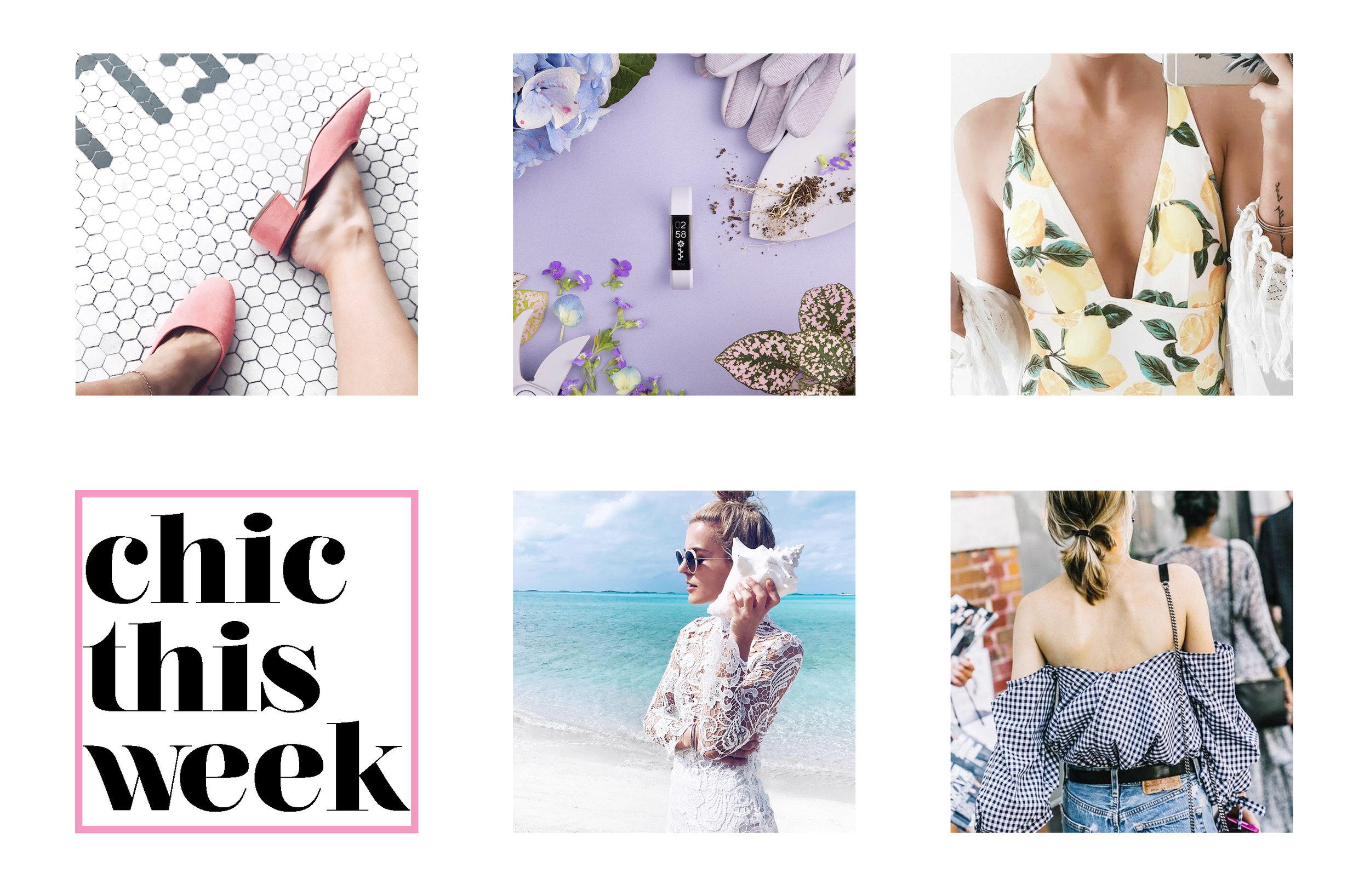 What's chic this week (via blogger Chic Now)
