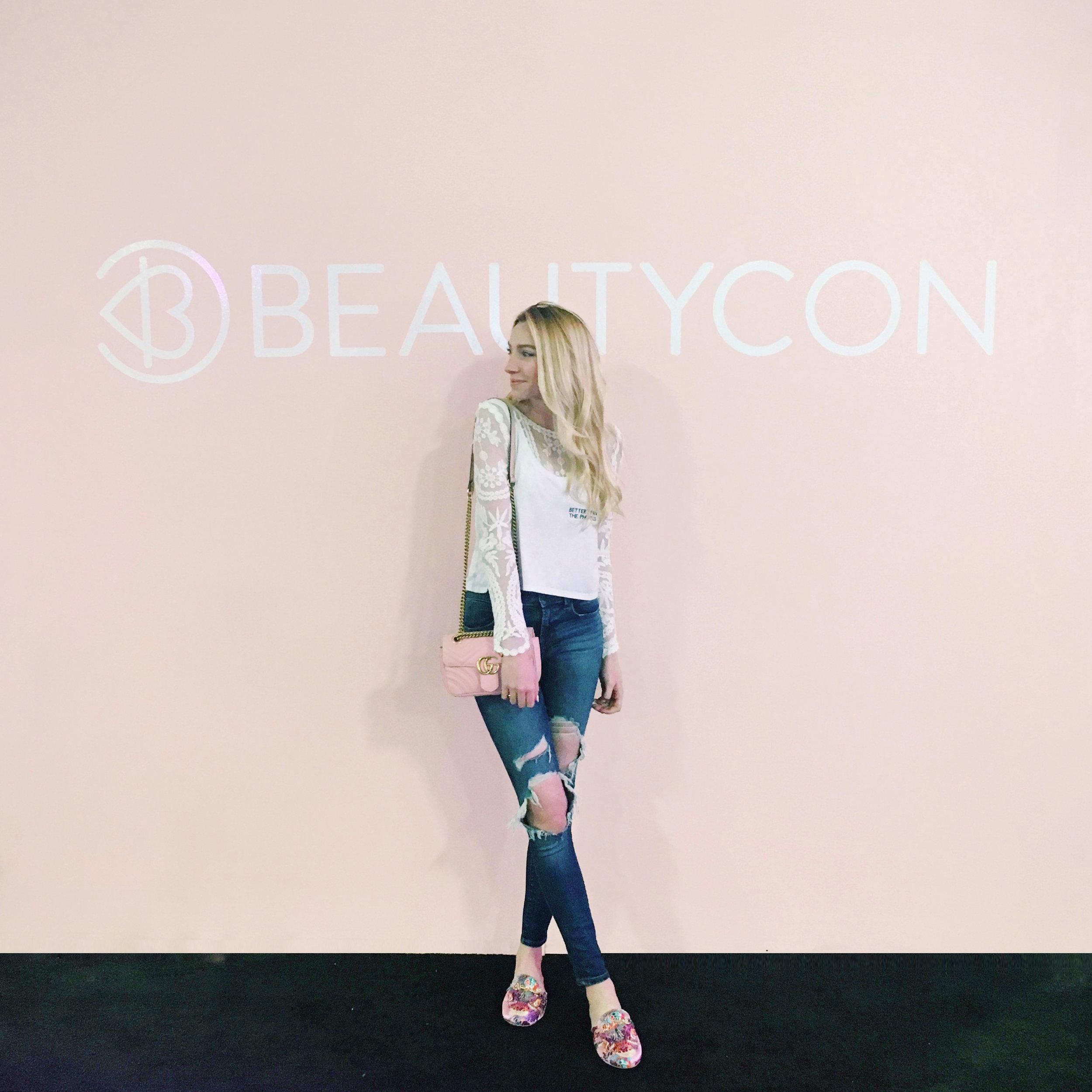 Blogger BeautyCon NYC