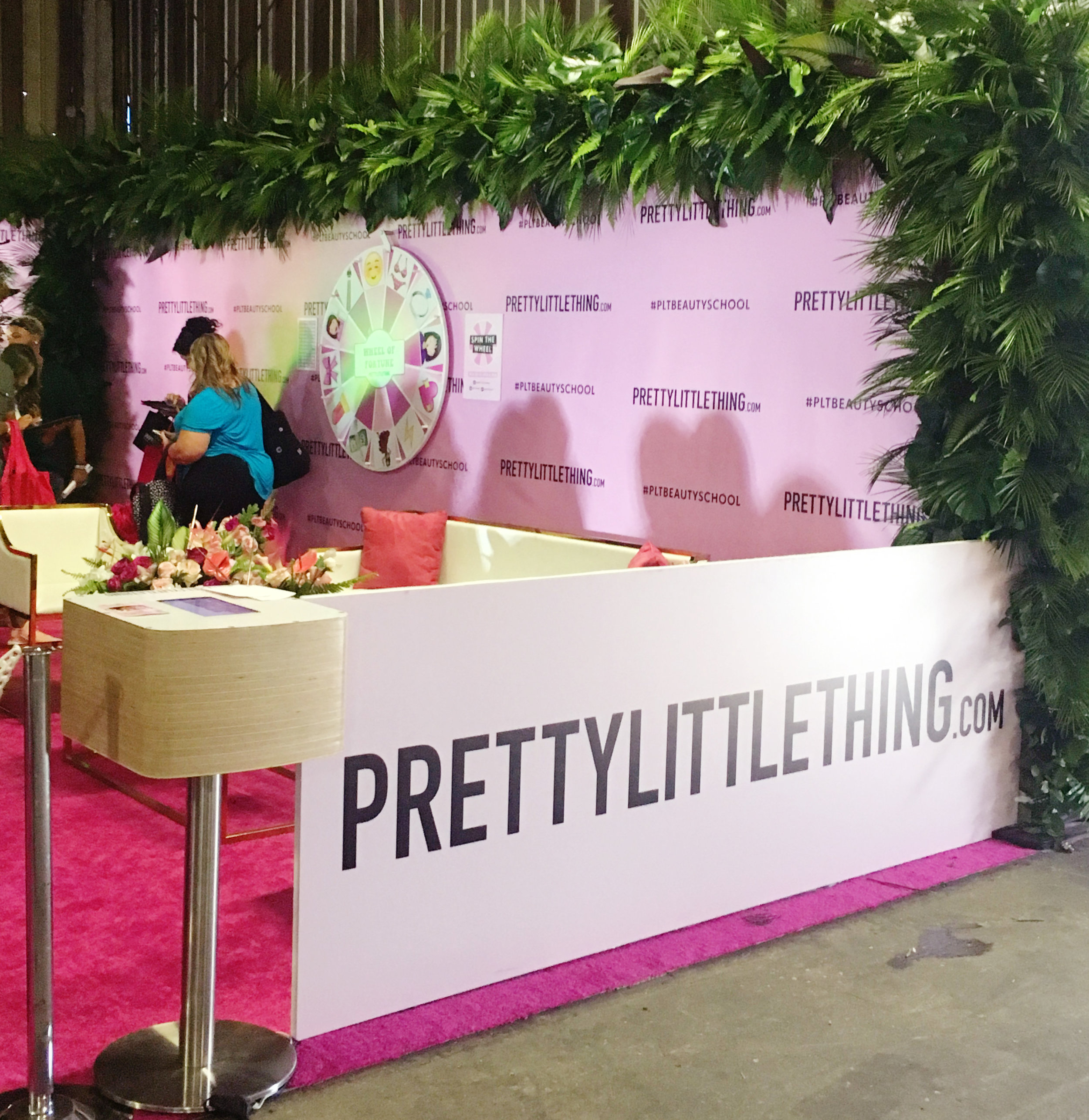 PrettyLittleThing at BeautyCon 2017