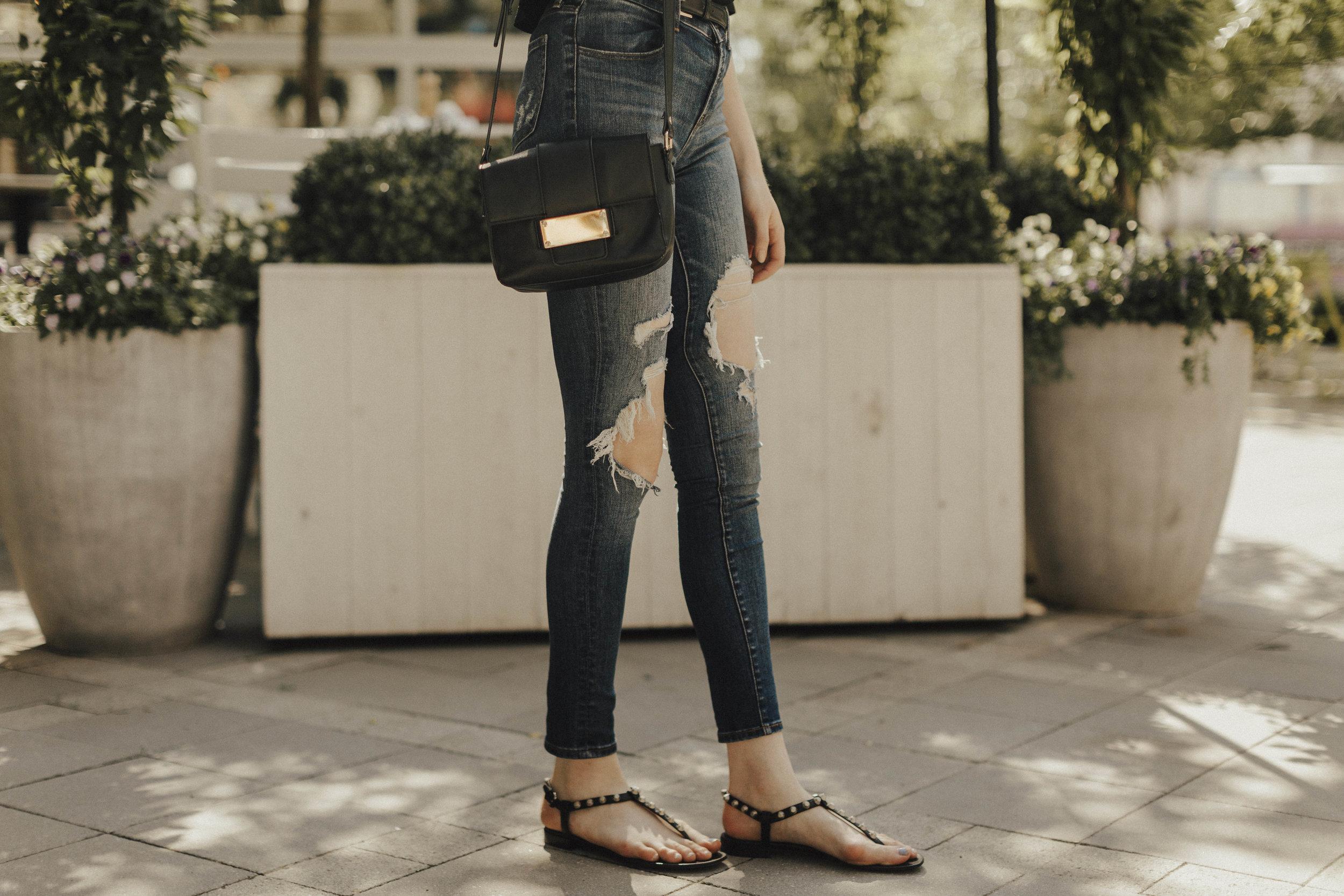 Blogger Summer Balenciaga Sandals