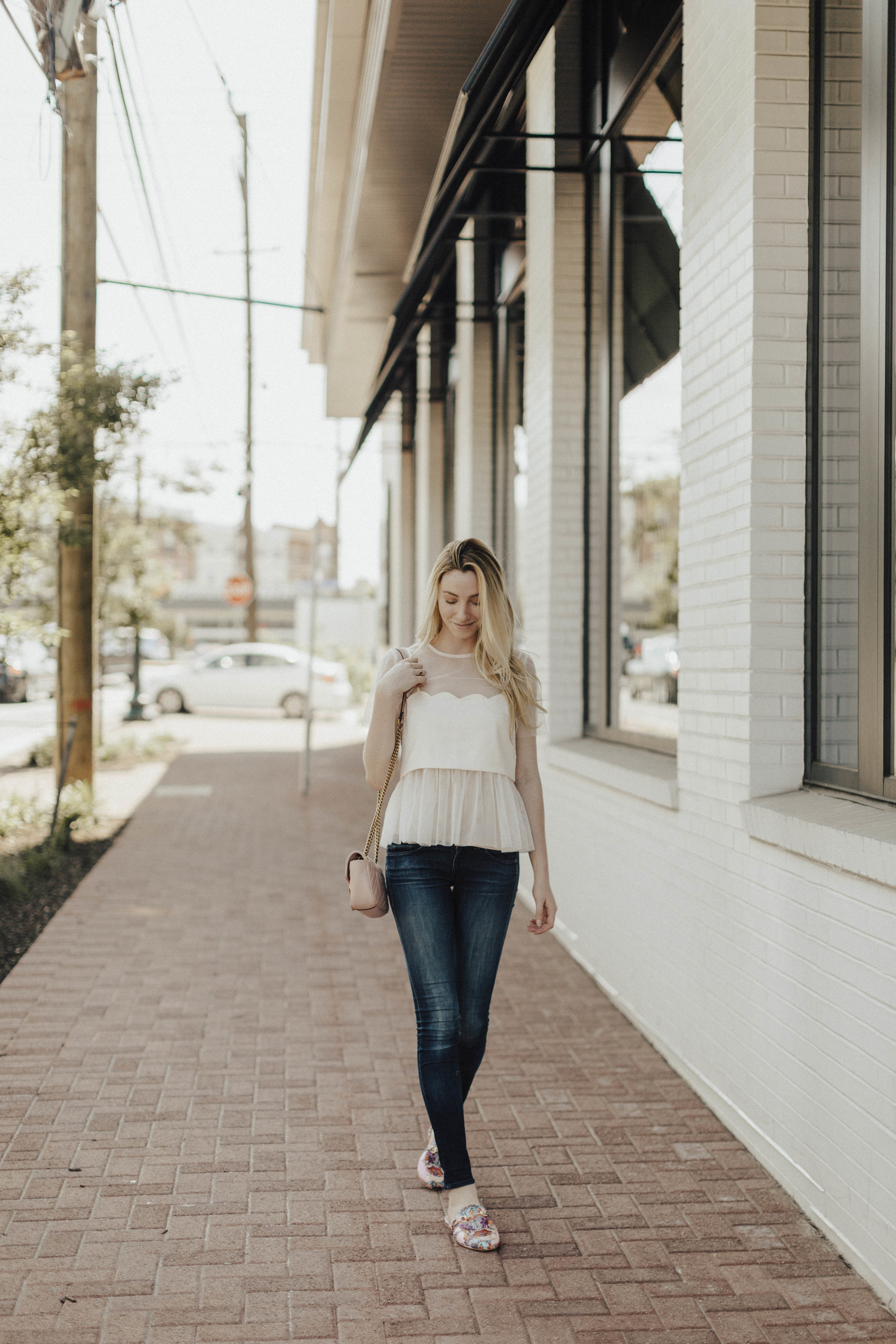 Sheer Street Style Outfit