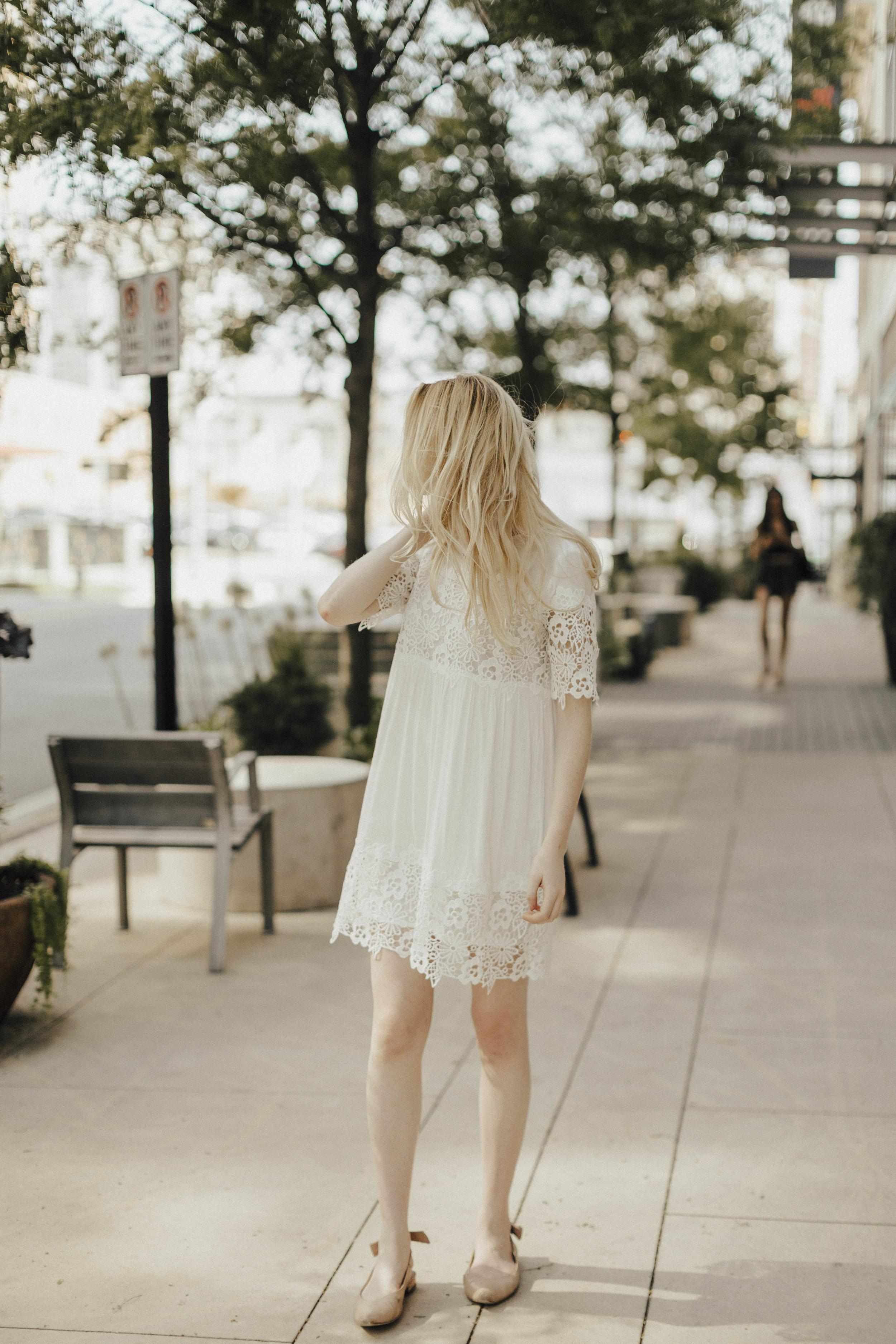 Summer Little White Dress