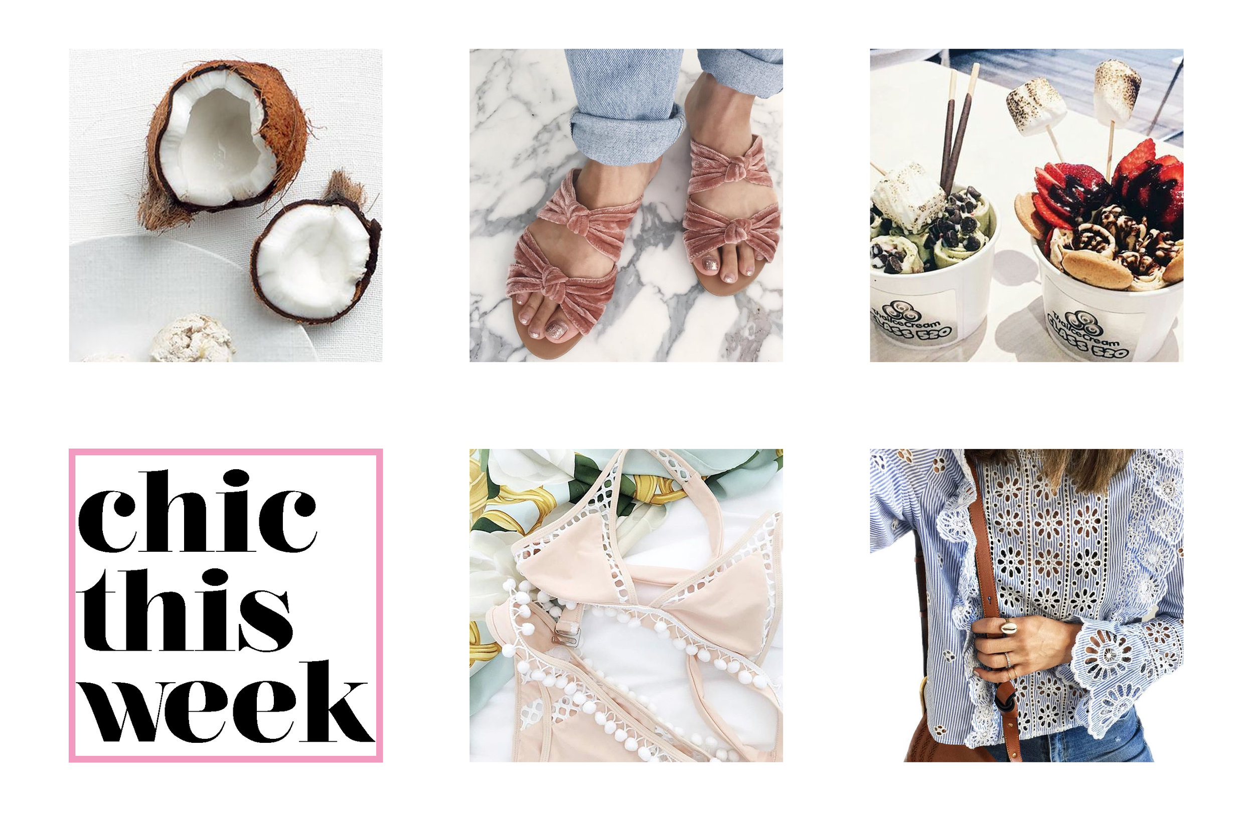 What's chic this week (V 041)