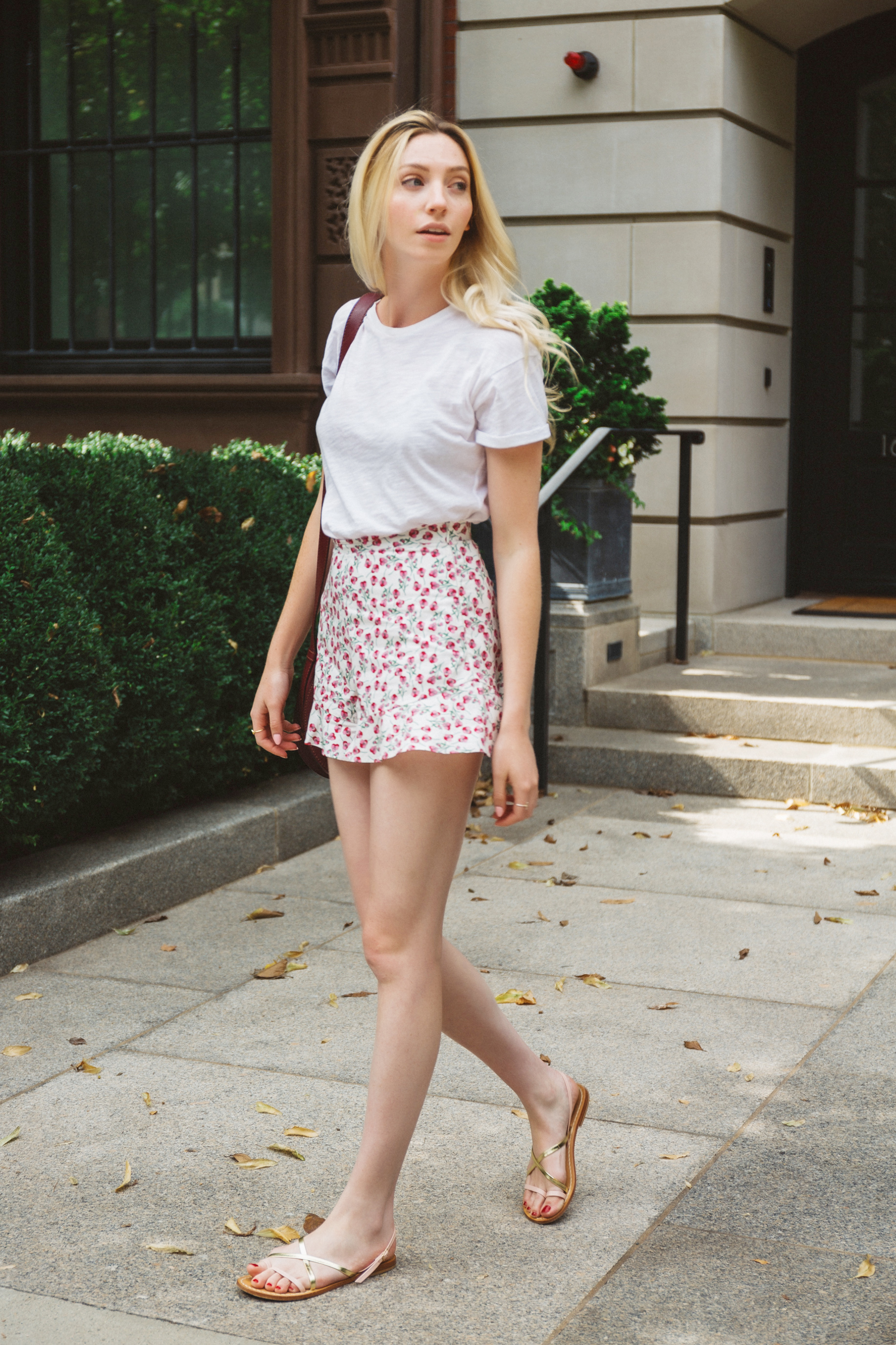 Summer Floral Shorts Outfit
