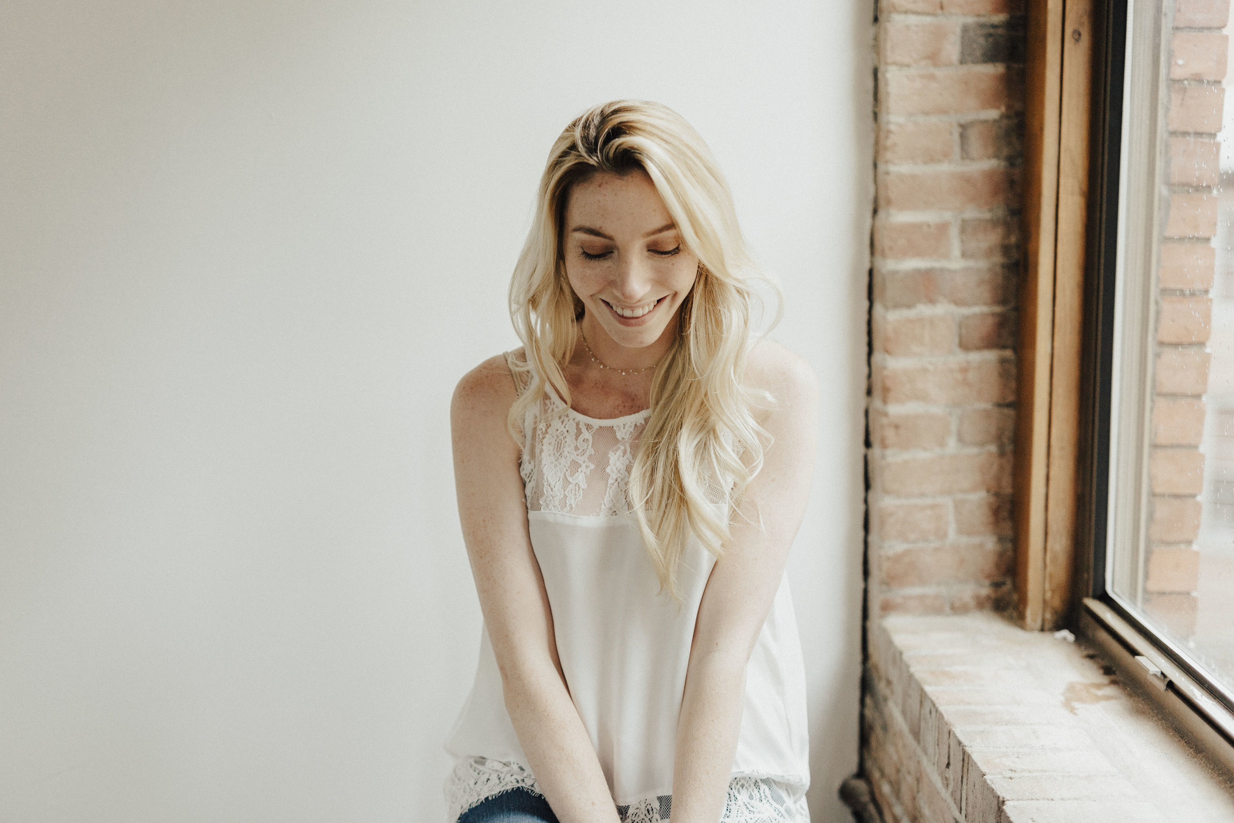White Lace Cami Outfit