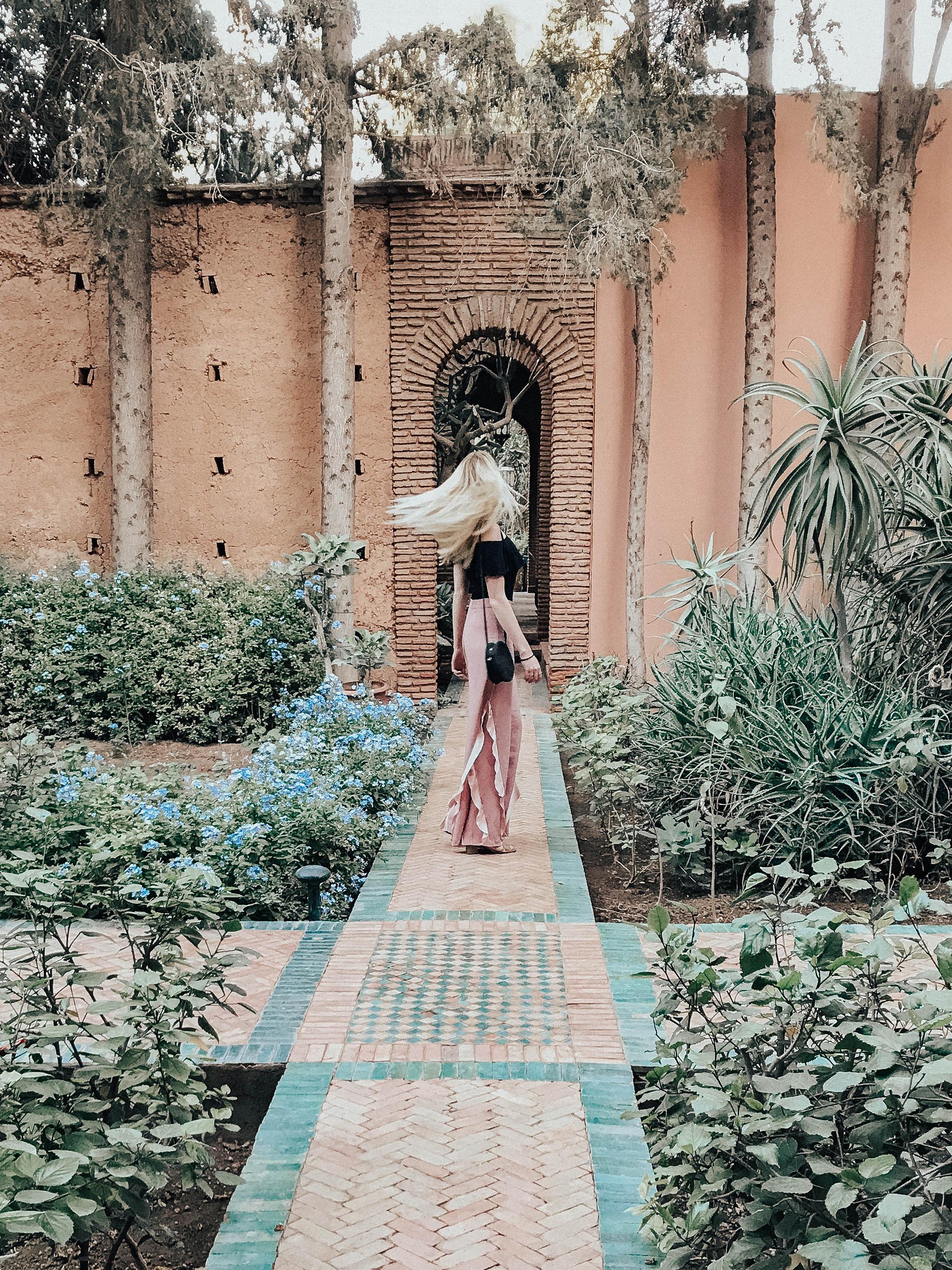 Blogger in Marrakech Morocco