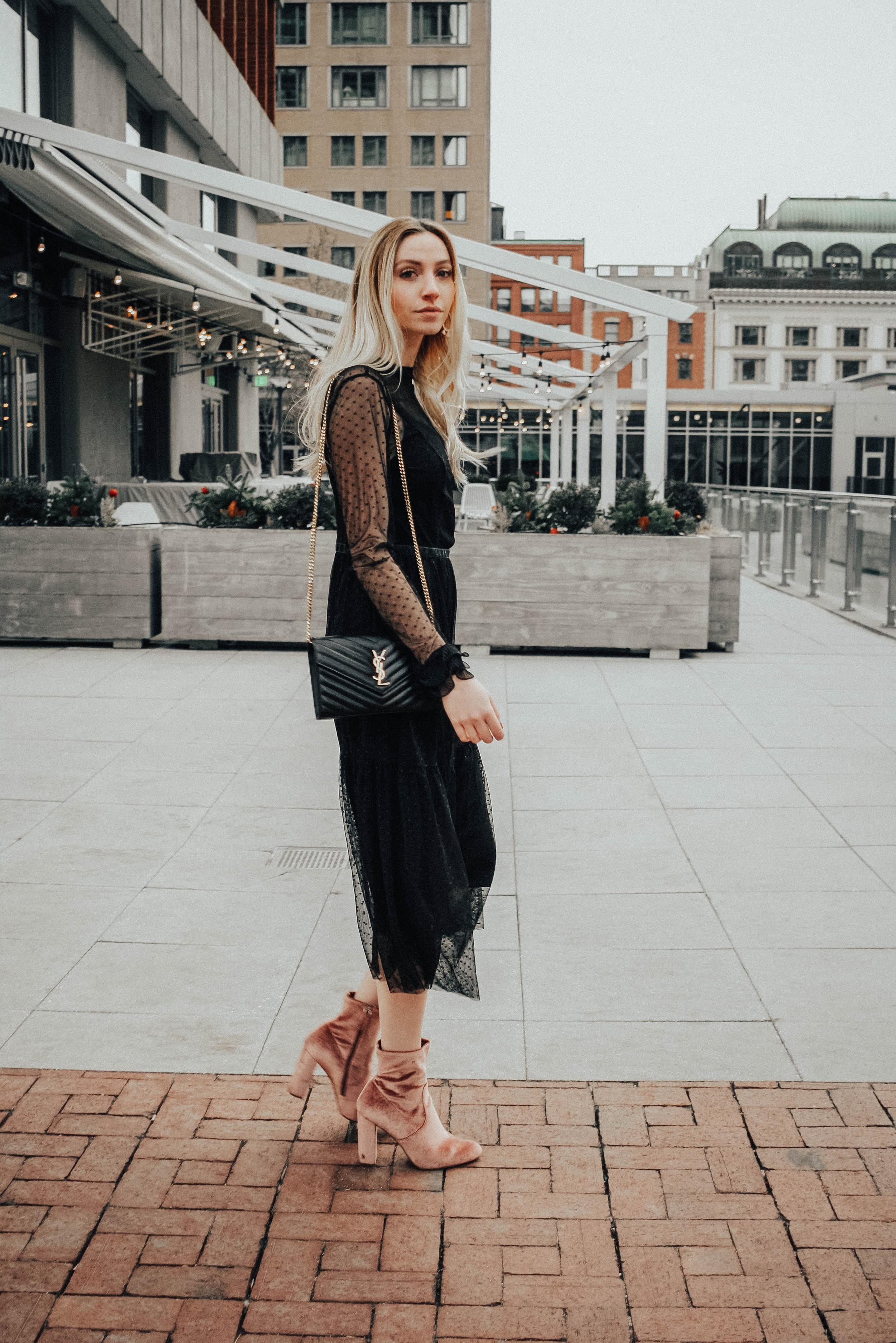 Sheer Dress Who What Wear
