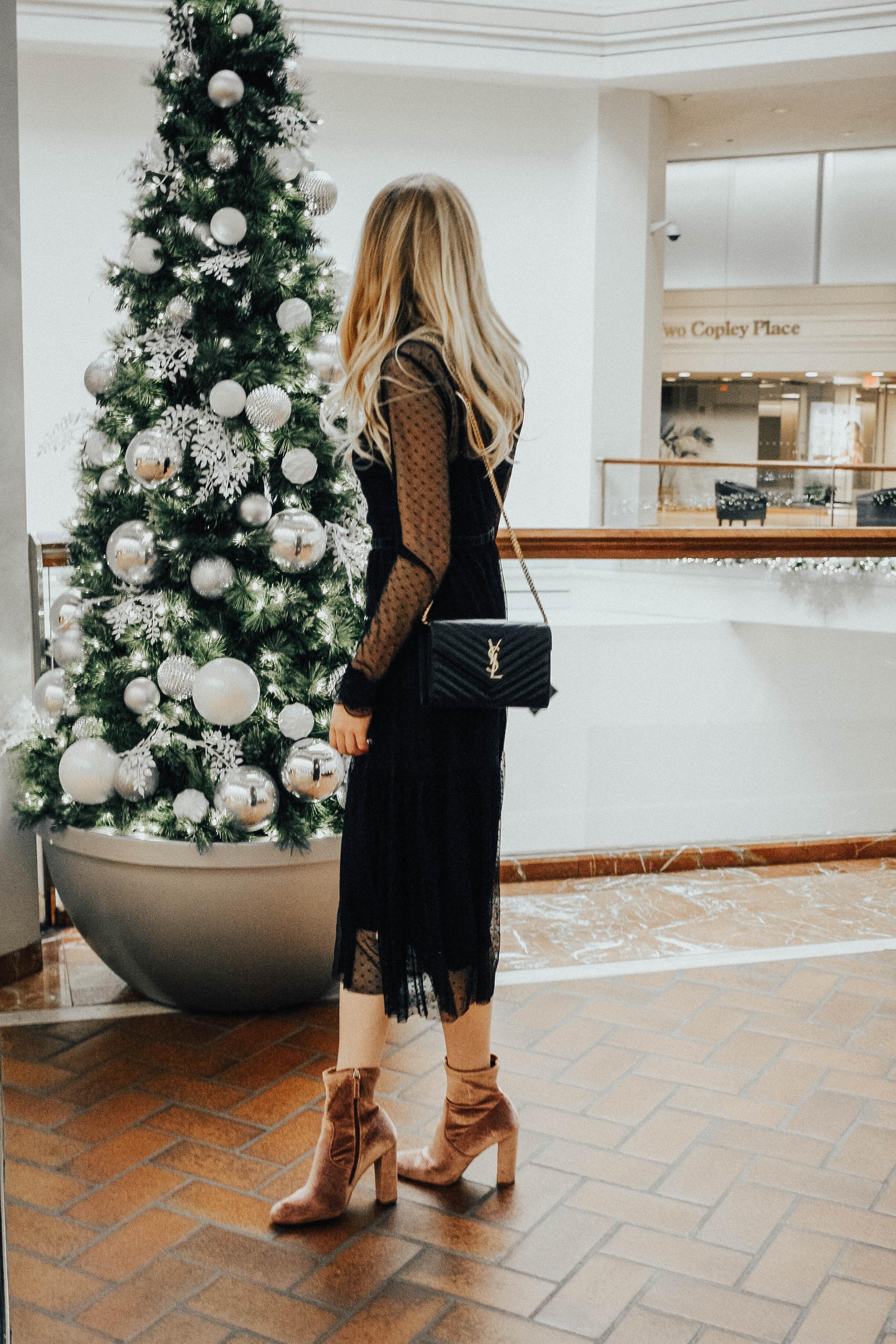 Blogger Holiday Dress