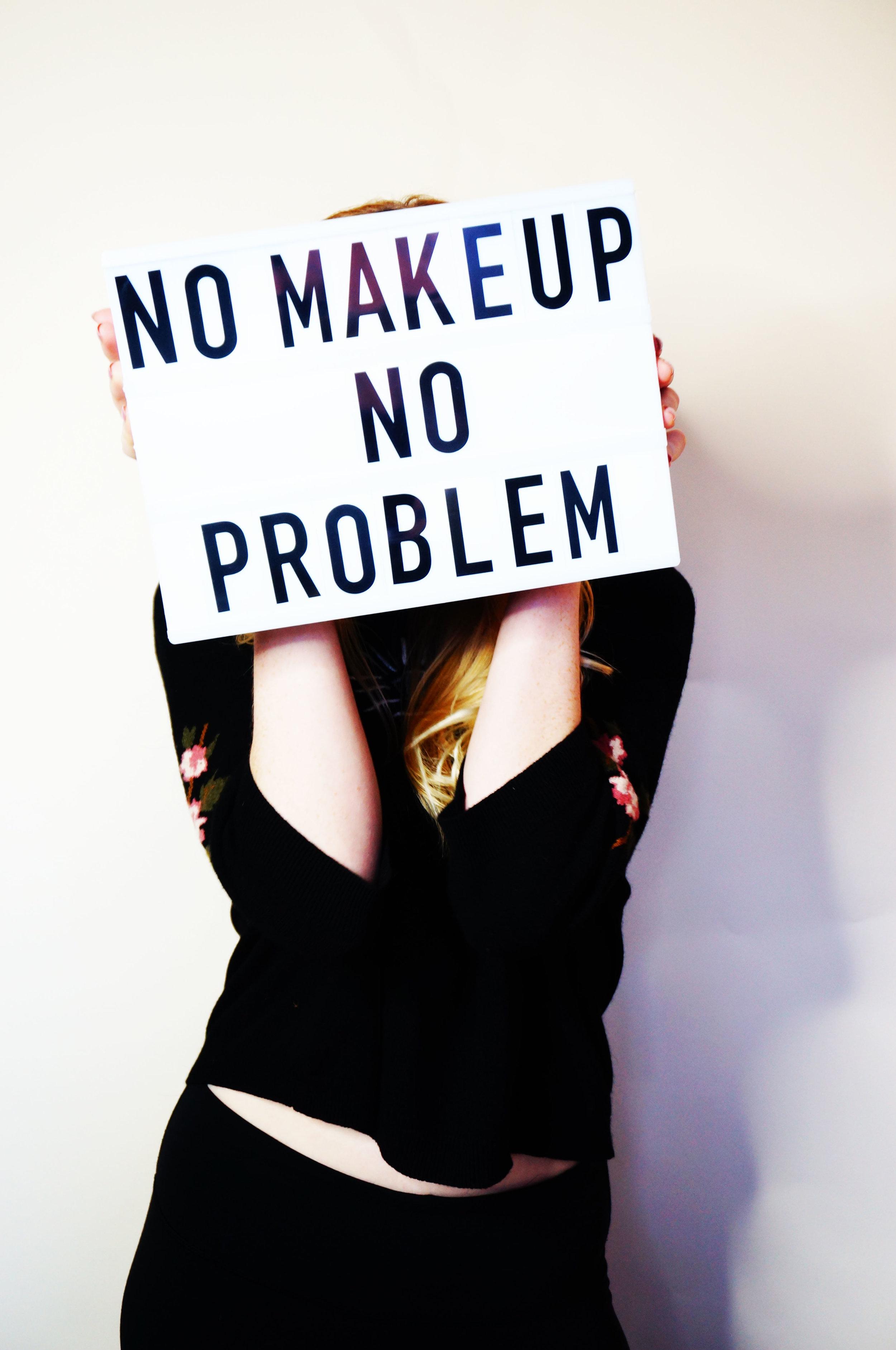 No makeup, no problem. Lash extensions