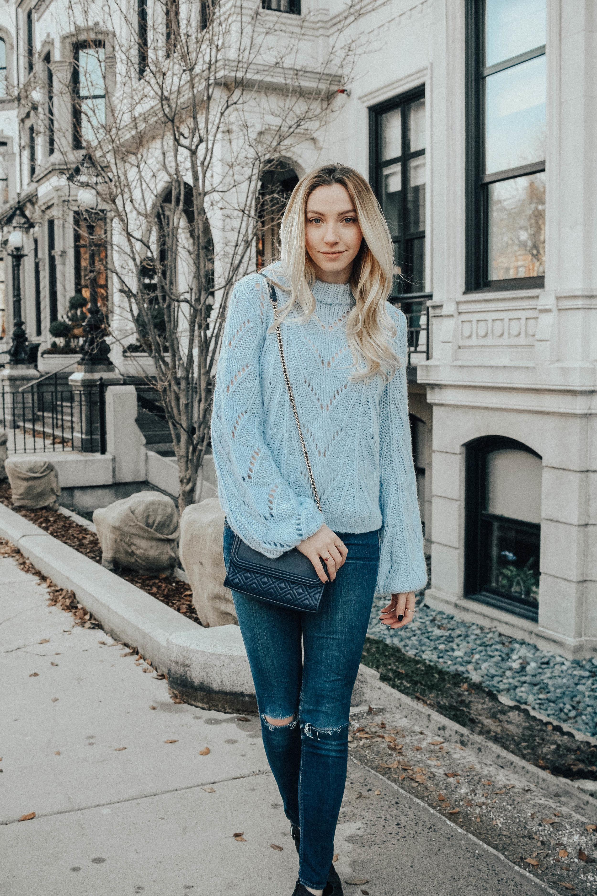 Pastel Sweater Style
