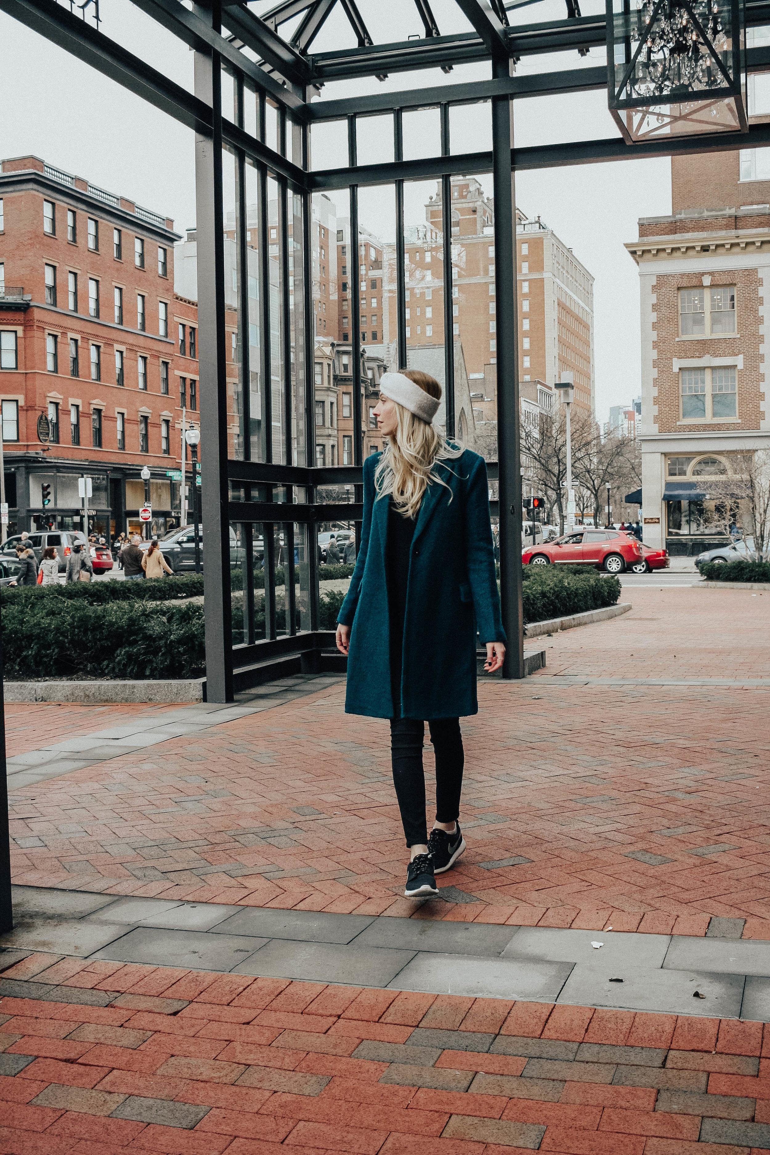 Blogger Winter Coat Style