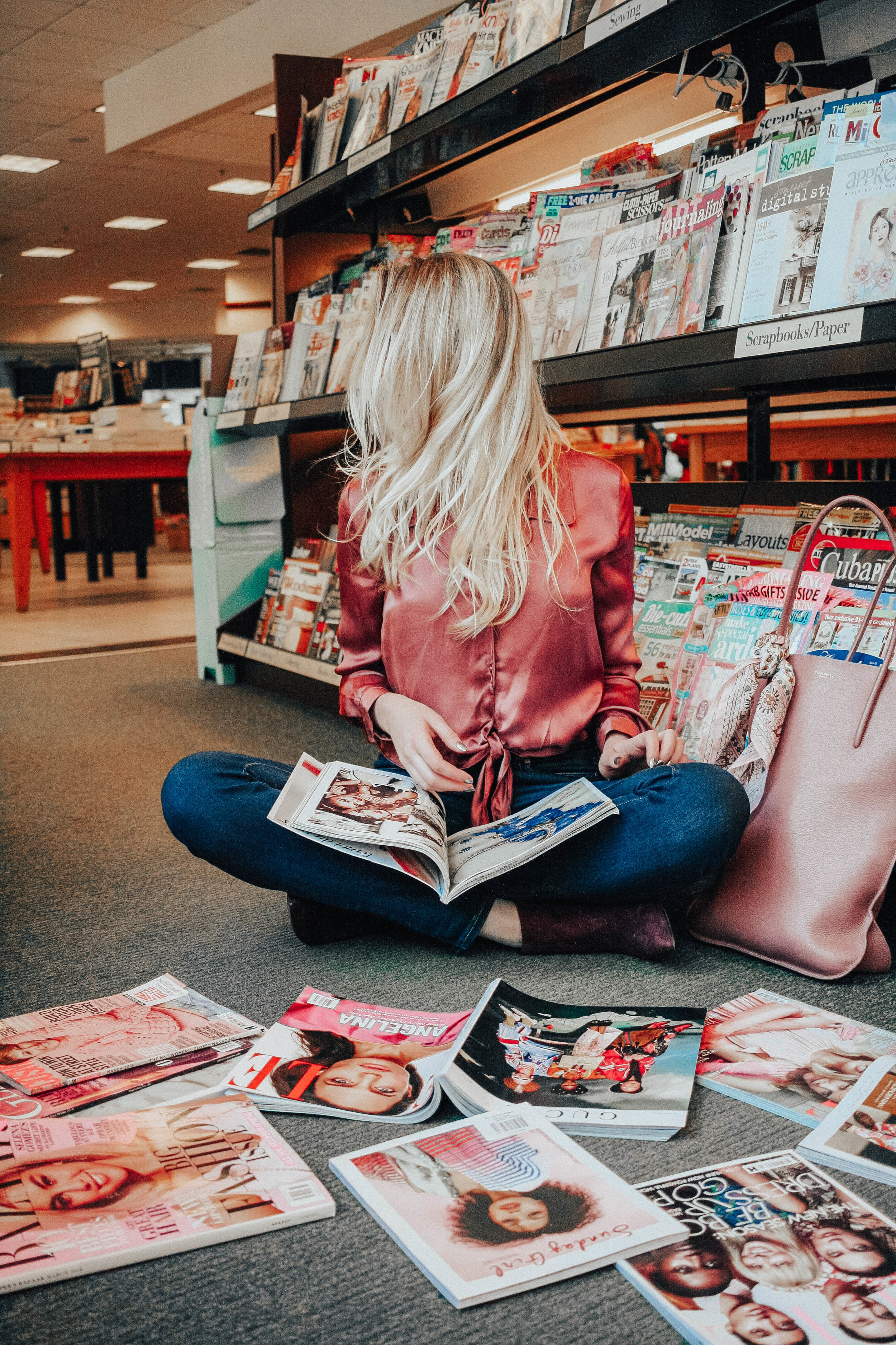 Blogger and Magazines