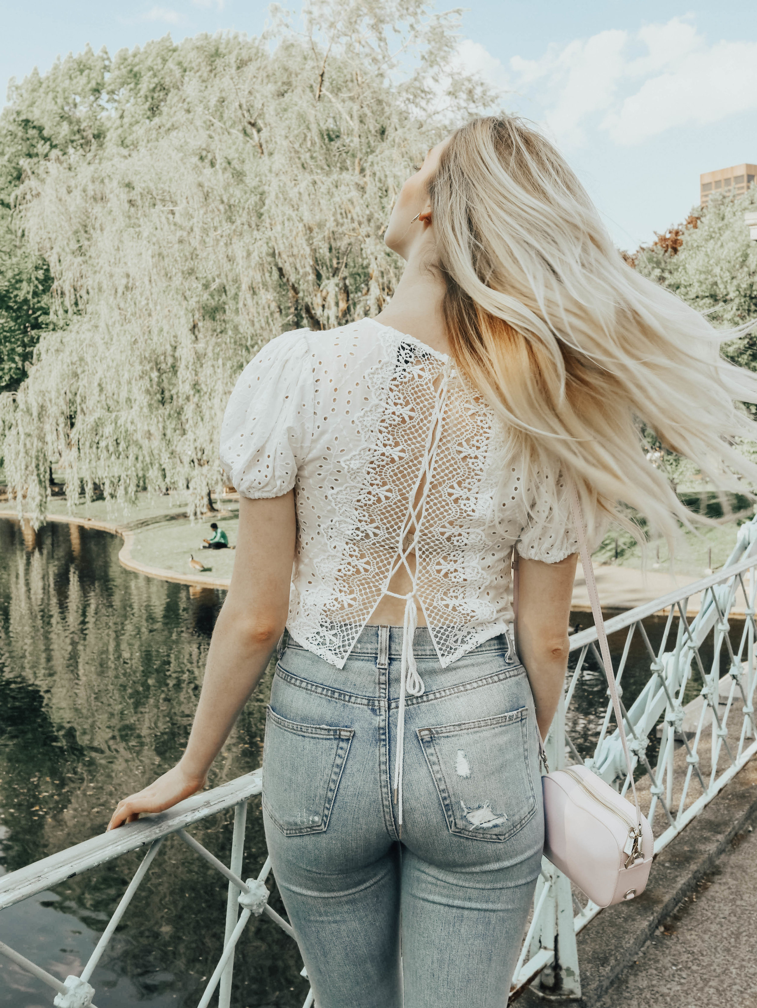 Lace Back Top | @maevestier