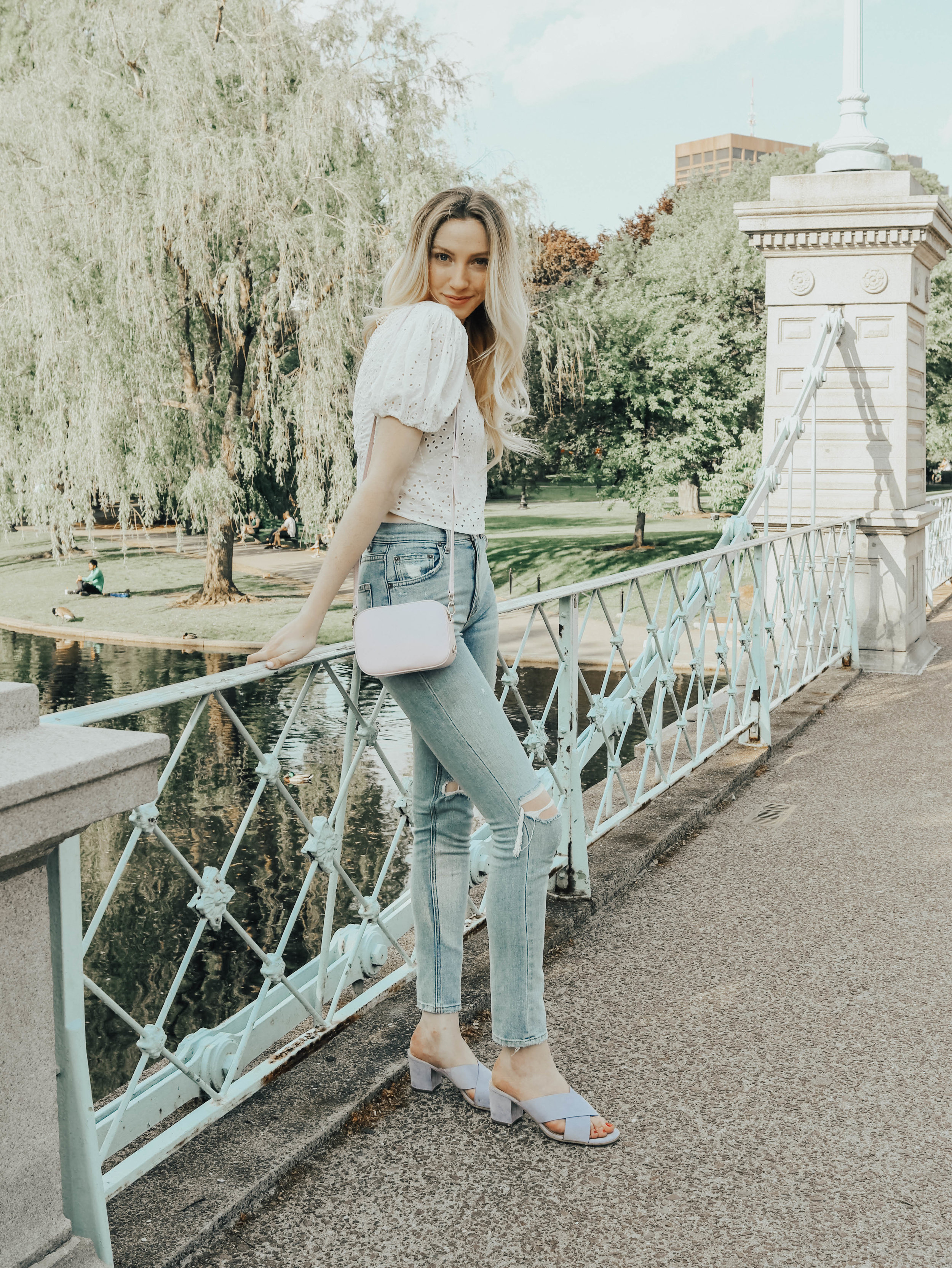 Puff Sleeve Outfit | @maevestier