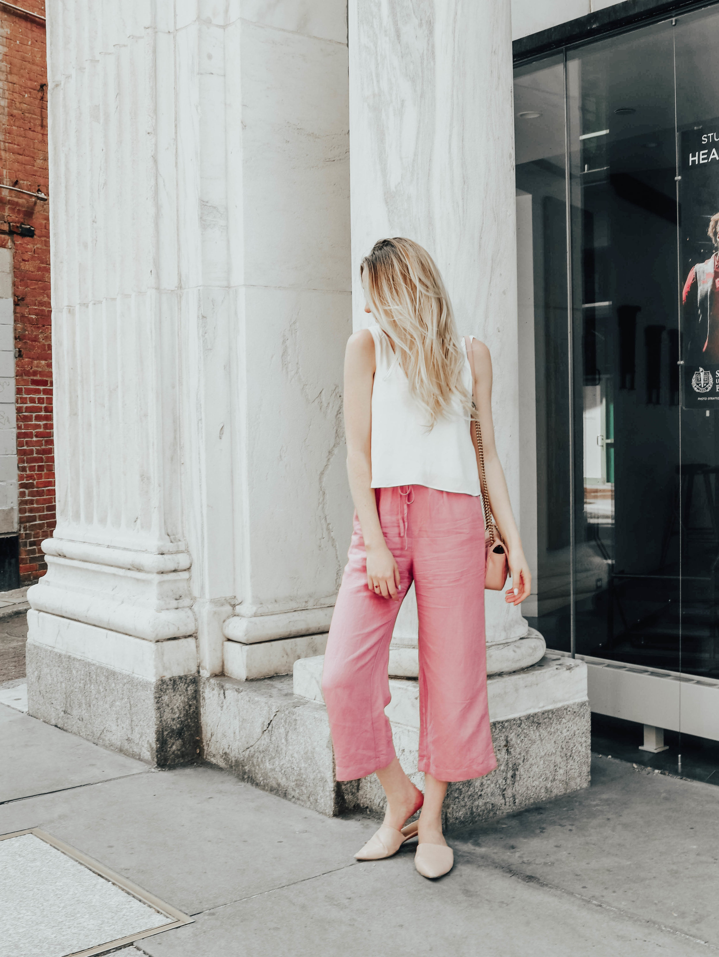 Summer Pants Outfit | @maevestier
