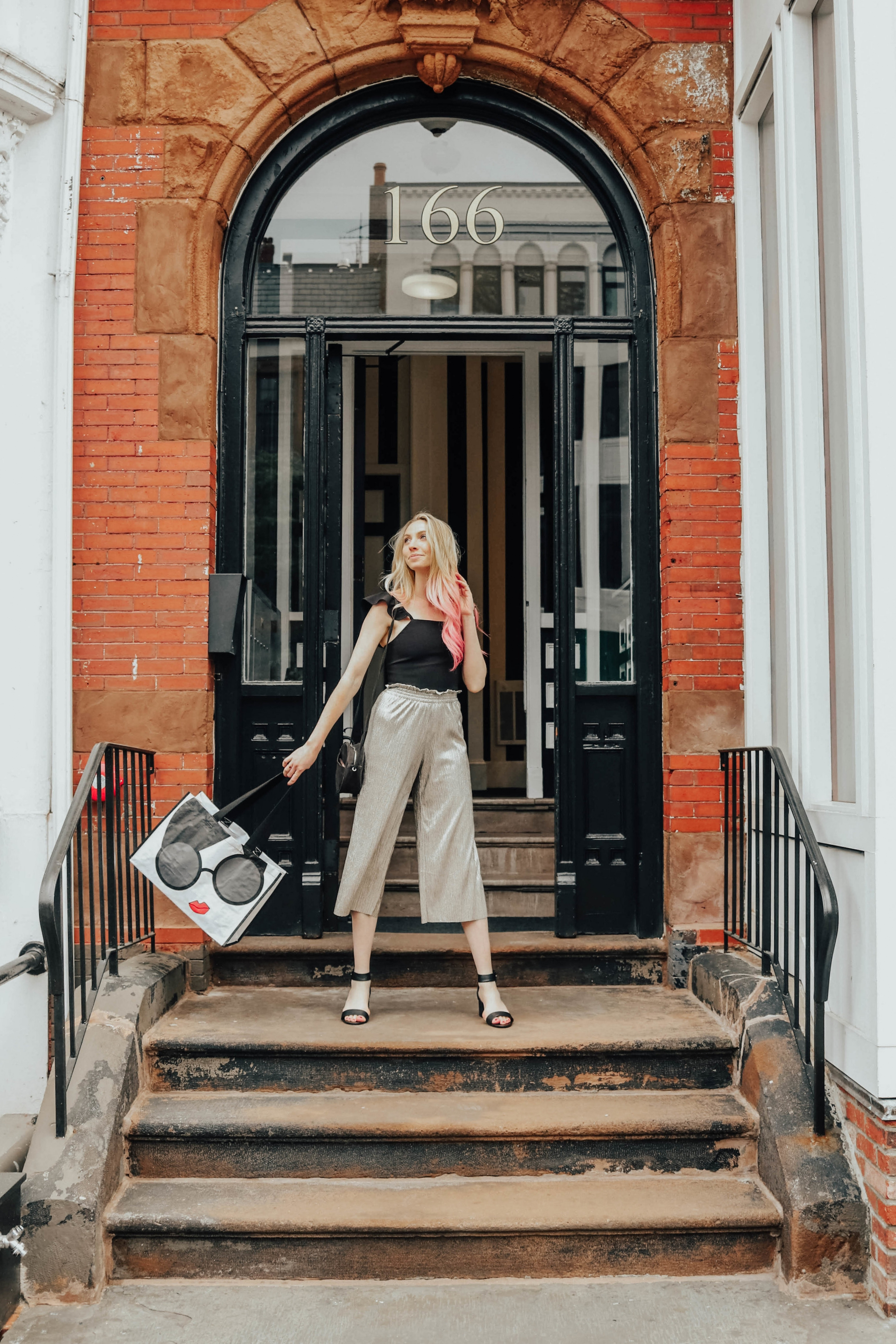 Alice and Olivia Outfit | @maevestier
