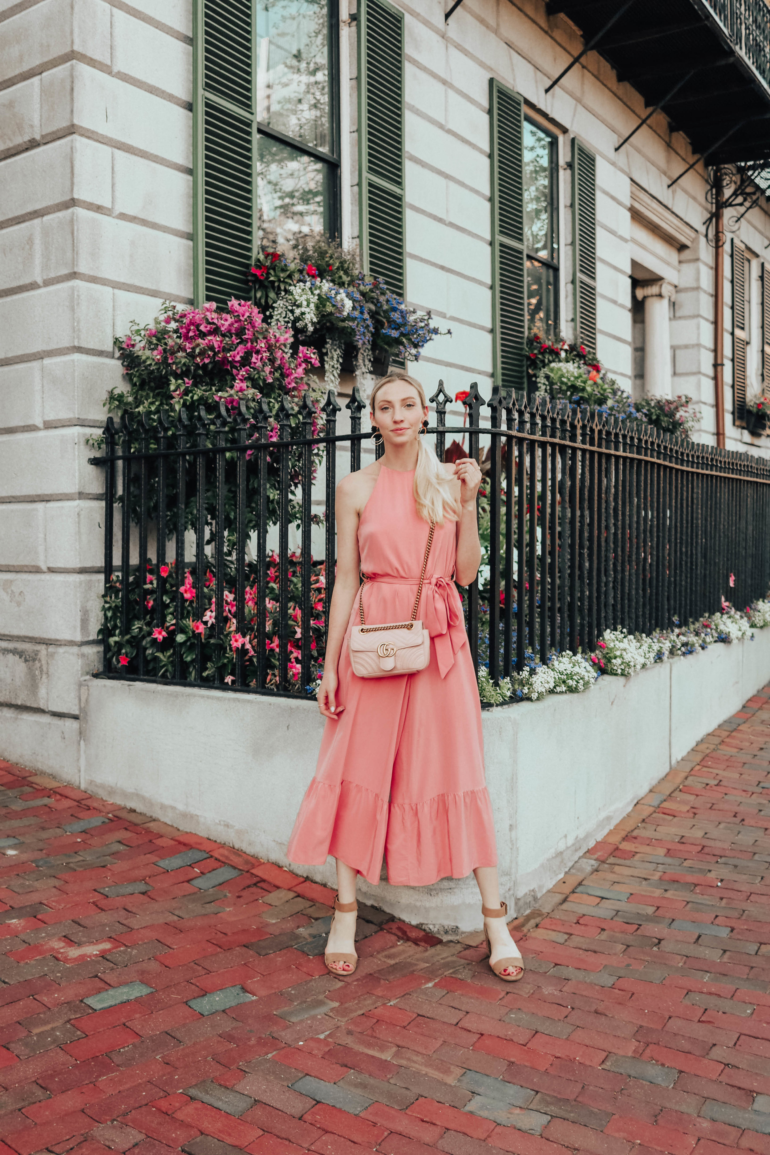 Pink Tibi Jumpsuit | @maevestier