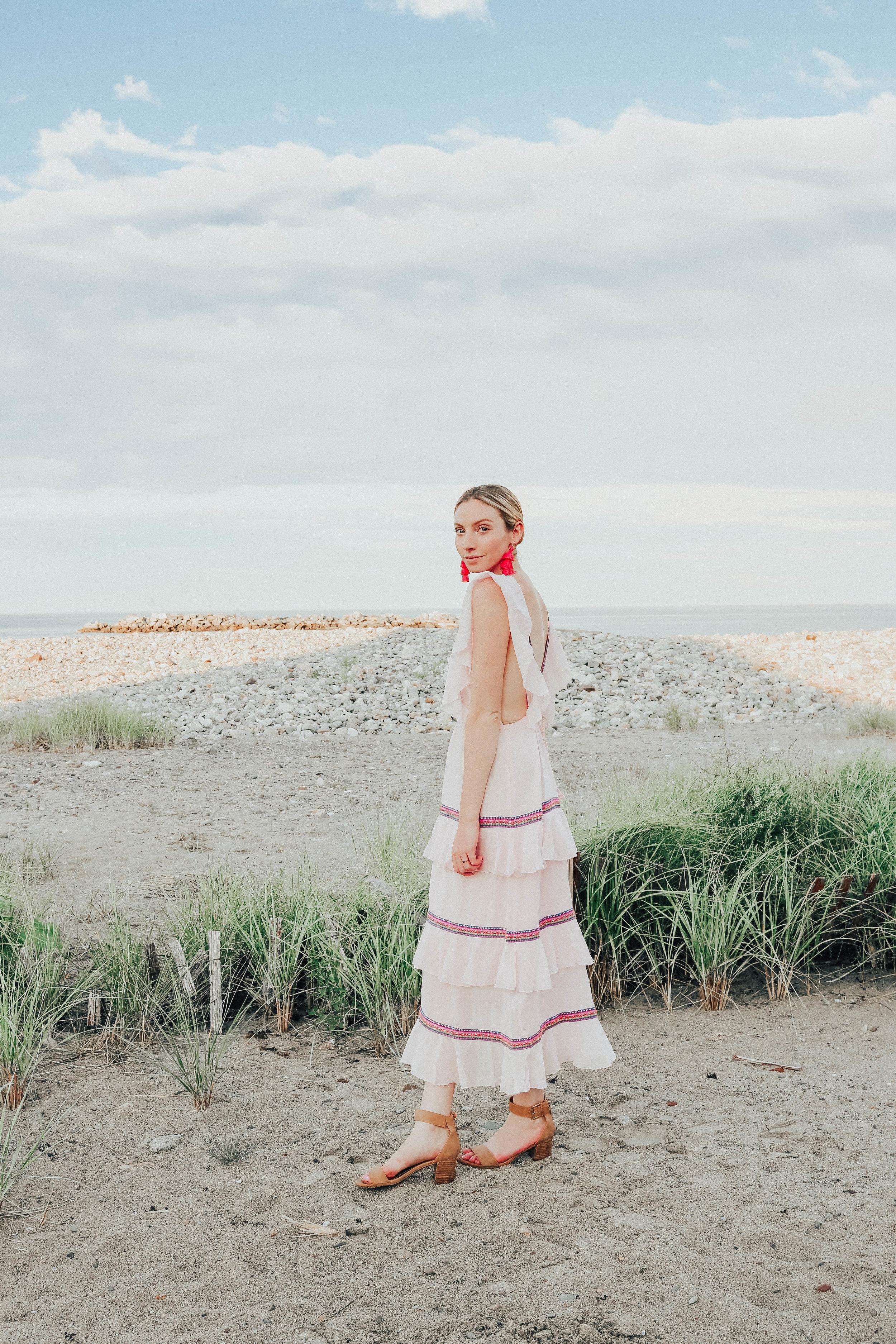 Beach Wedding Guest Dress | @maevestier