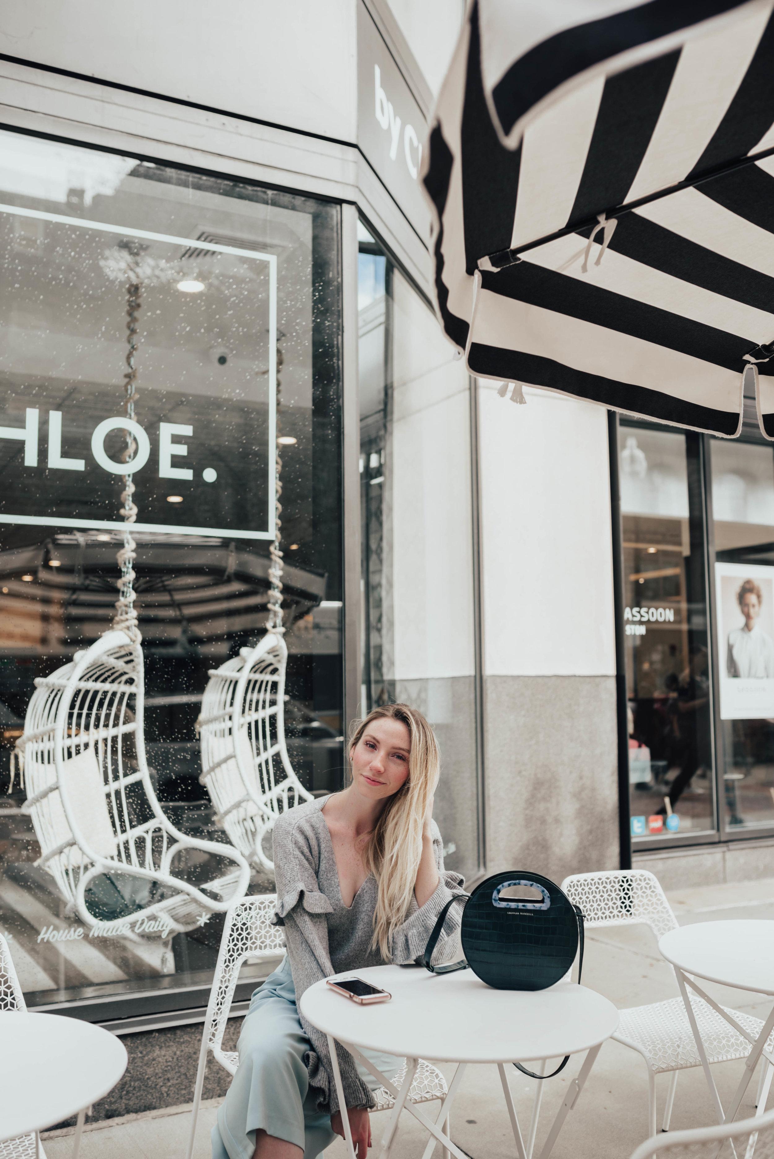 Blogger Ruffle Sweater | @maevestier