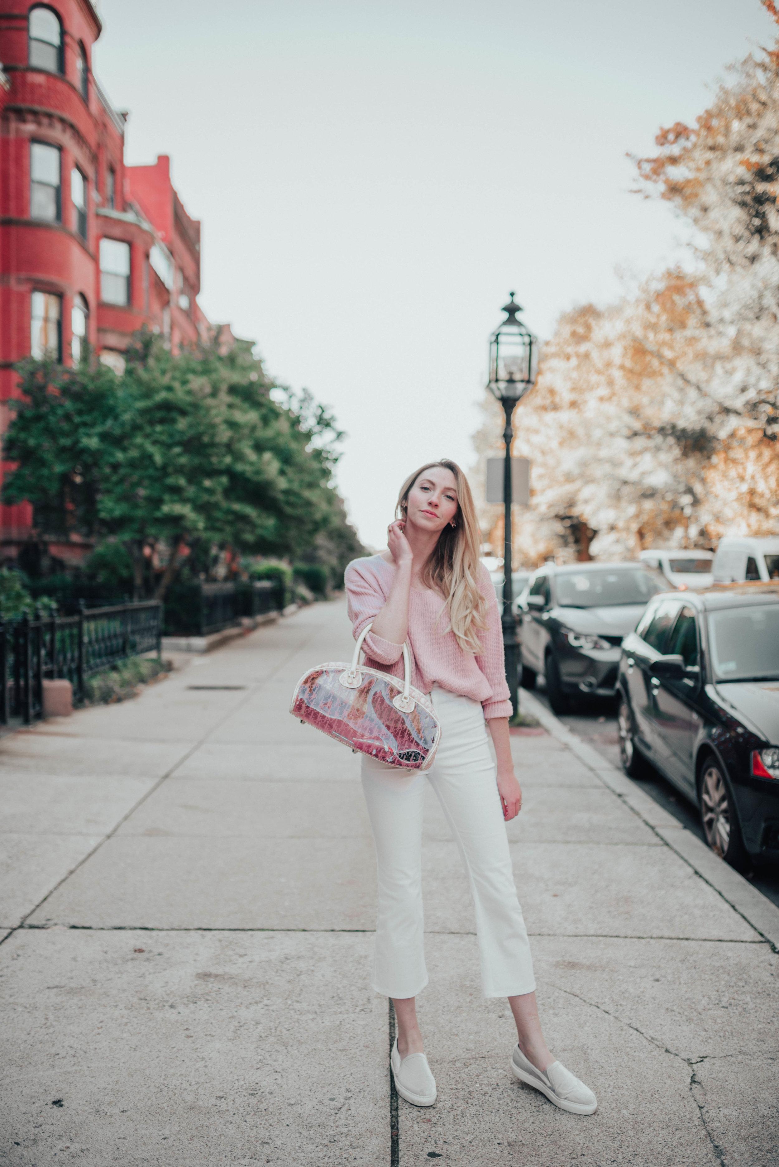 Vintage Pink Dior Bag   @maevestier